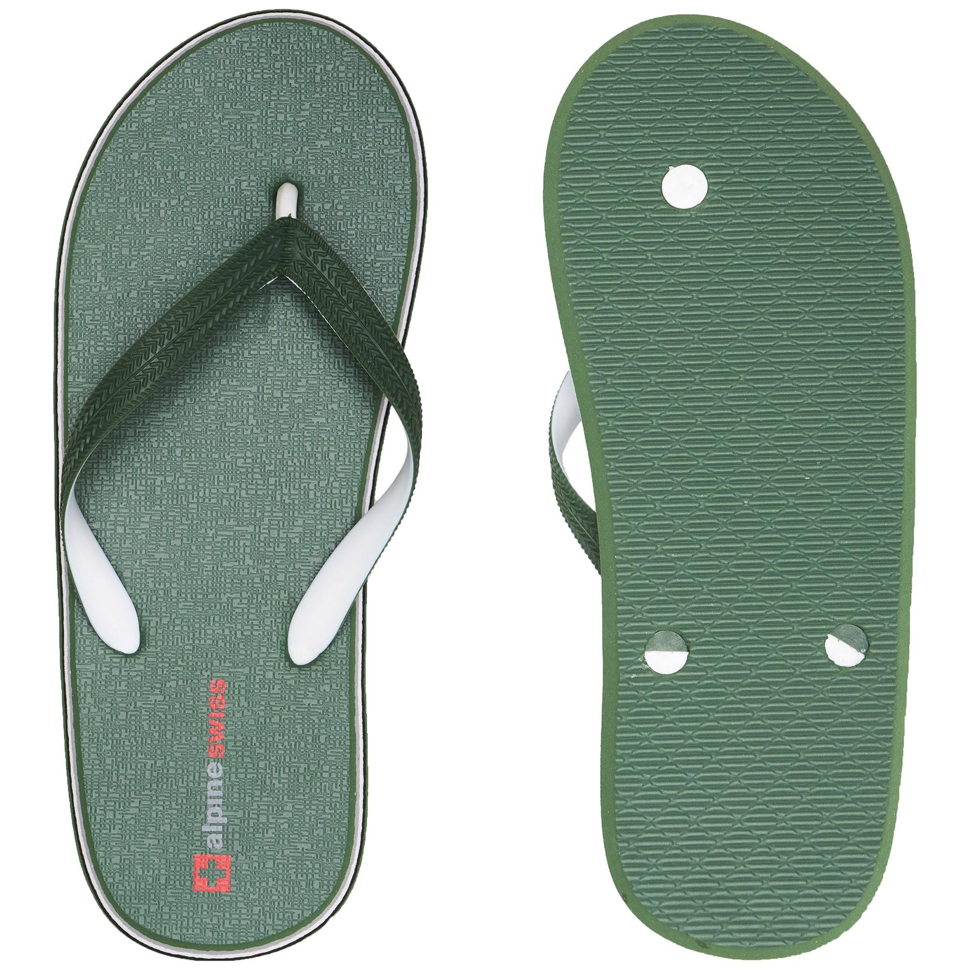 Alpine-Swiss-Mens-Flip-Flops-Beach-Sandals-Lightweight-EVA-Sole-Comfort-Thongs thumbnail 41