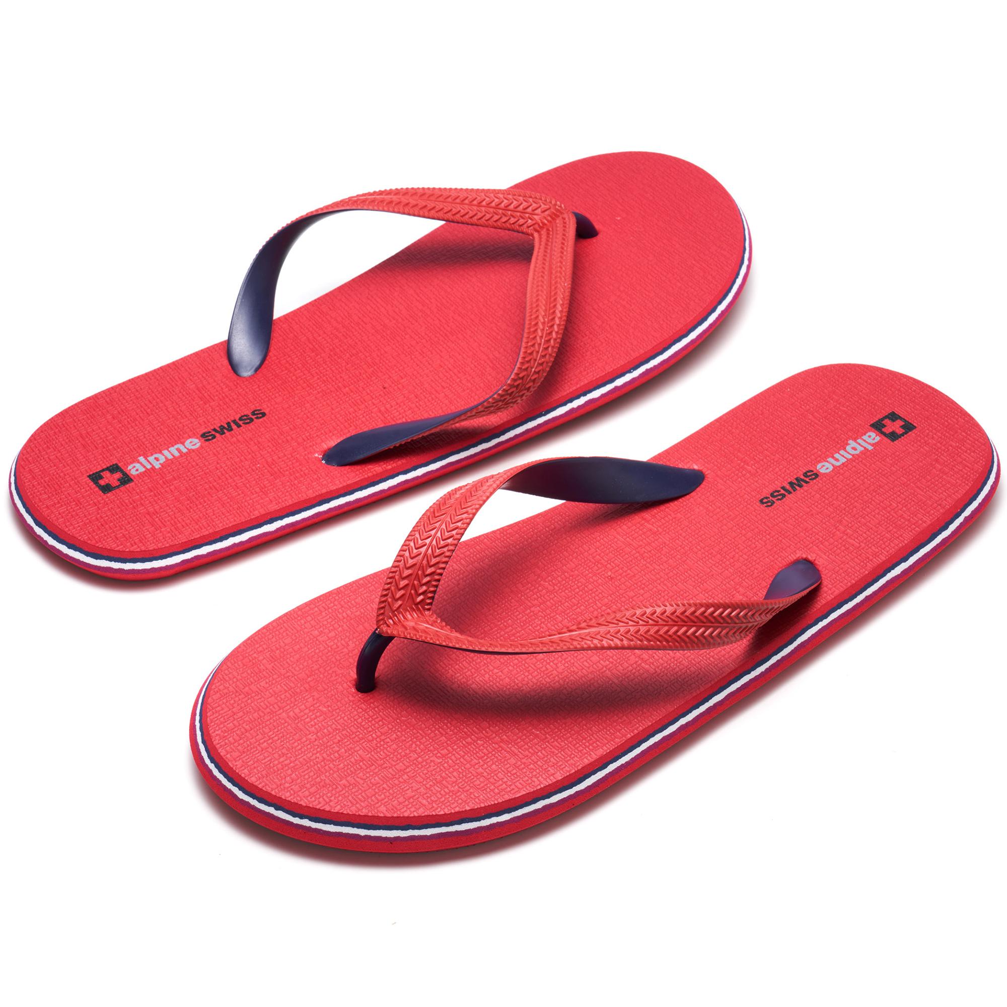 Alpine-Swiss-Mens-Flip-Flops-Beach-Sandals-Lightweight-EVA-Sole-Comfort-Thongs thumbnail 35