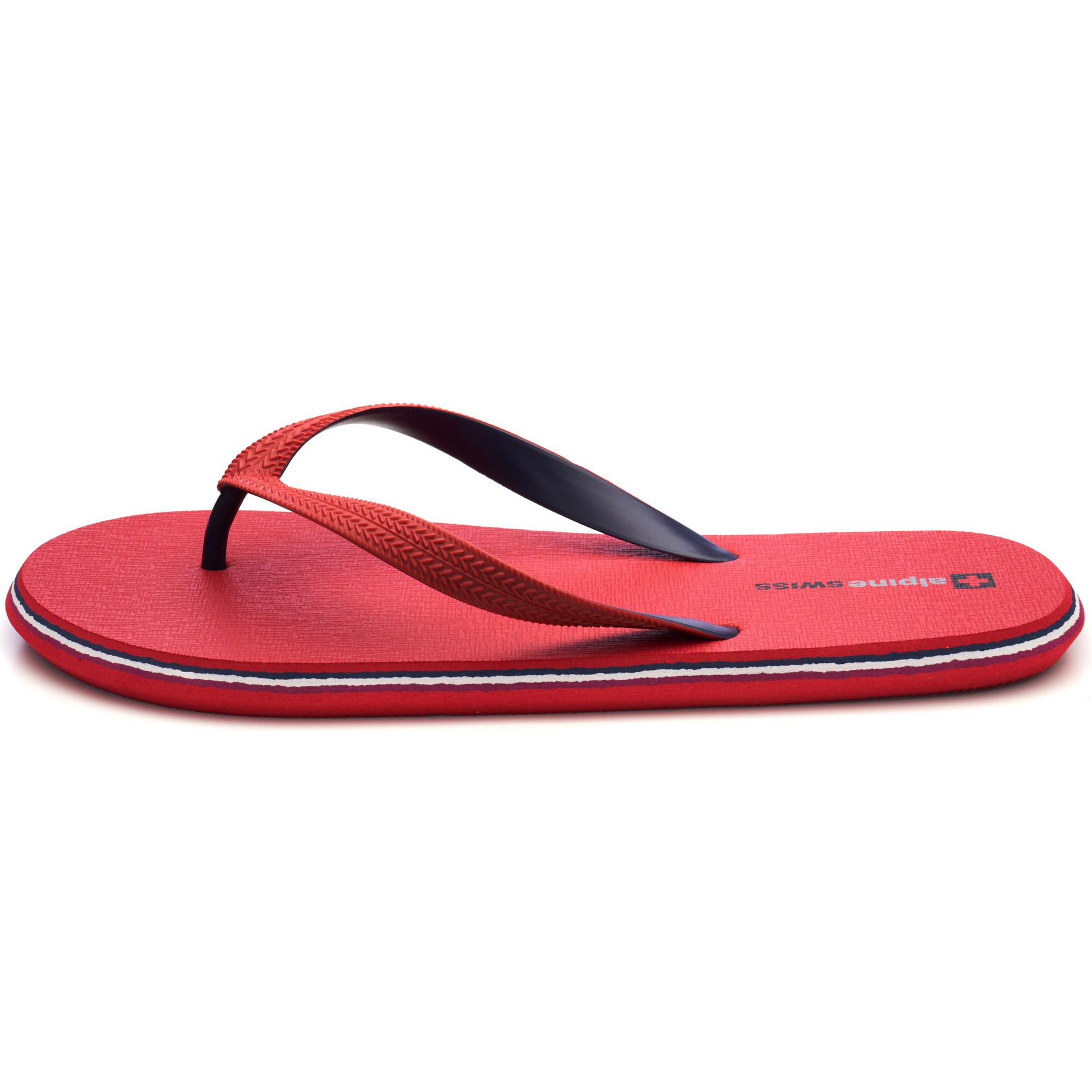Alpine-Swiss-Mens-Flip-Flops-Beach-Sandals-Lightweight-EVA-Sole-Comfort-Thongs thumbnail 44