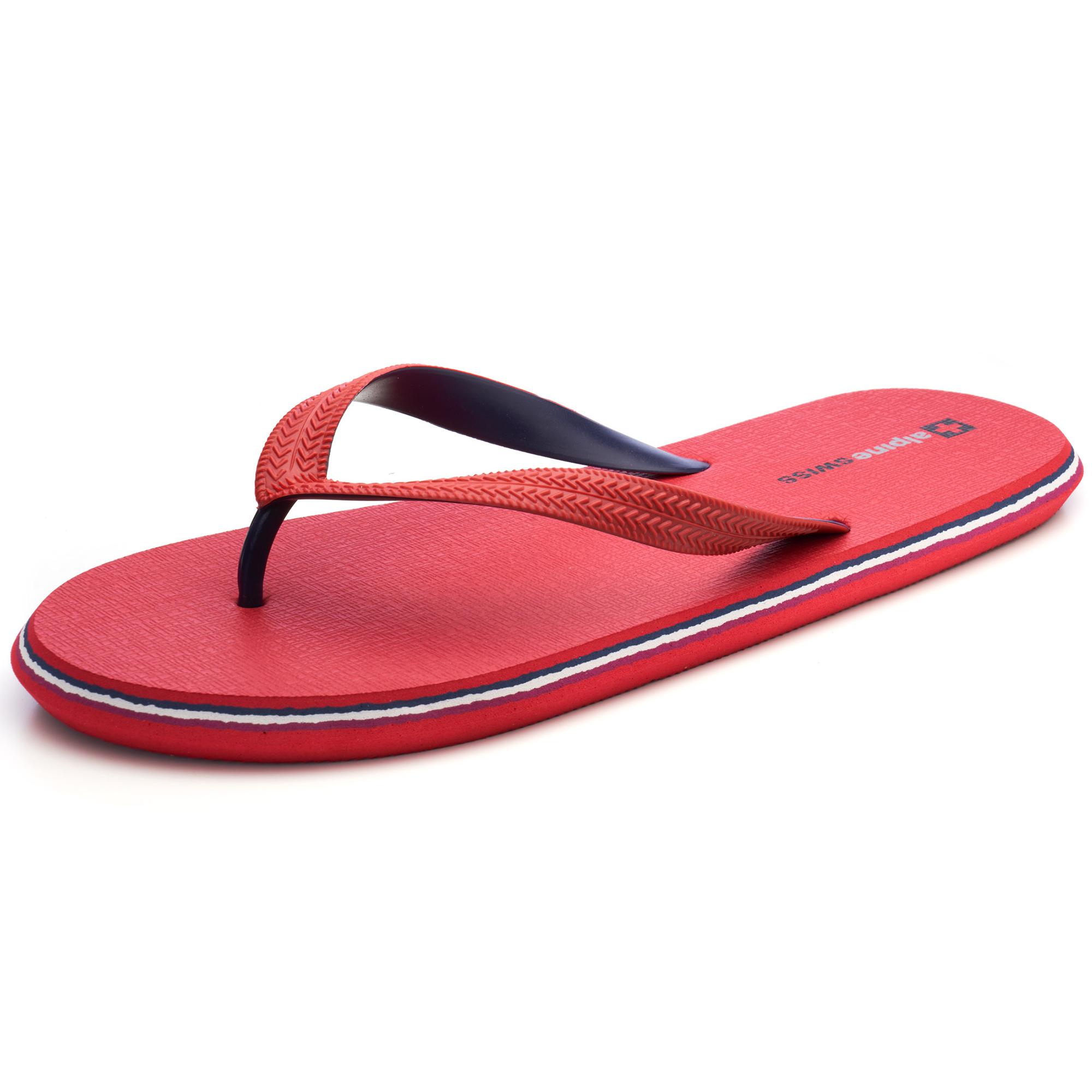 Alpine-Swiss-Mens-Flip-Flops-Beach-Sandals-Lightweight-EVA-Sole-Comfort-Thongs thumbnail 45