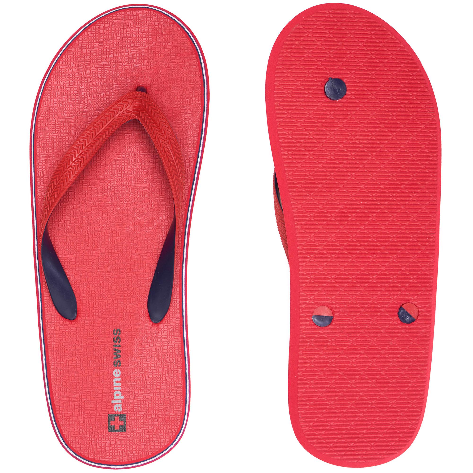 Alpine-Swiss-Mens-Flip-Flops-Beach-Sandals-Lightweight-EVA-Sole-Comfort-Thongs thumbnail 46