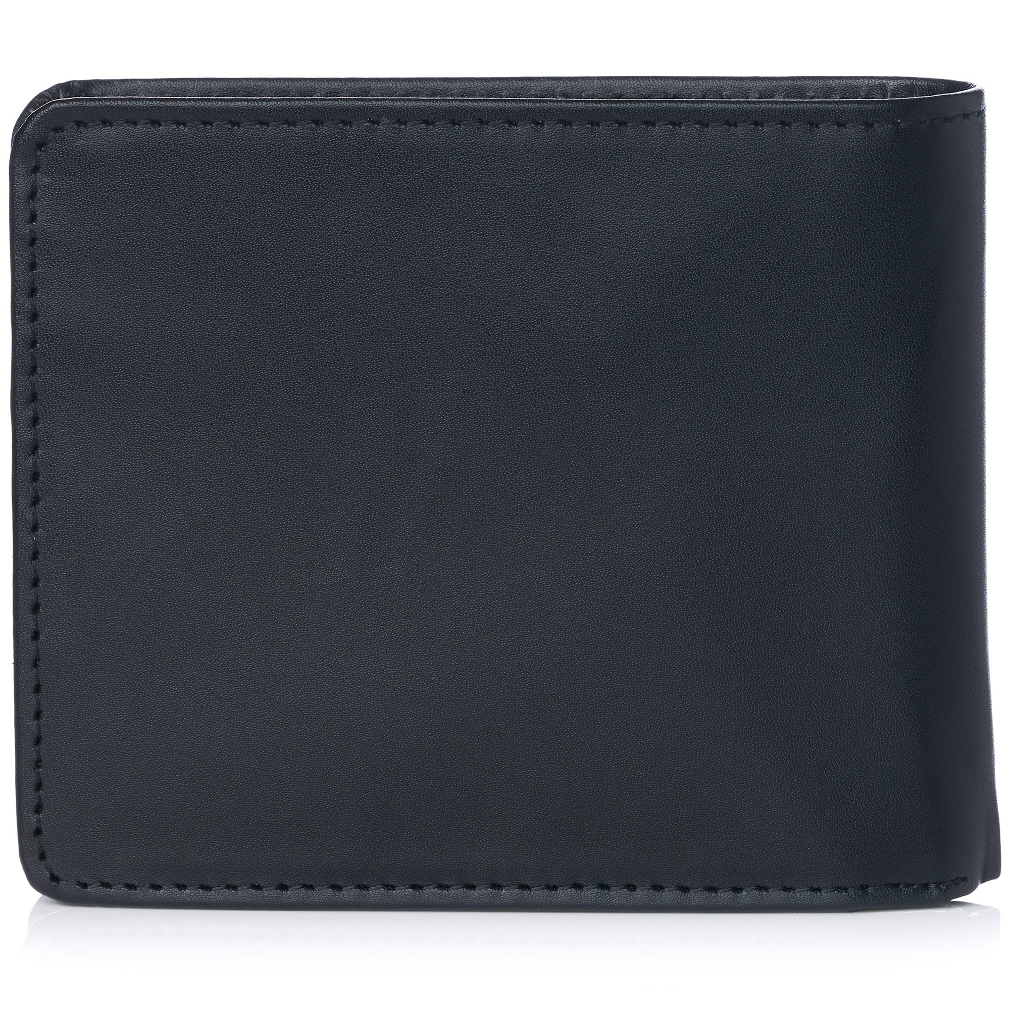 miniature 61 - Alpine-Swiss-RFID-Mens-Wallet-Deluxe-Capacity-Passcase-Bifold-Two-Bill-Sections