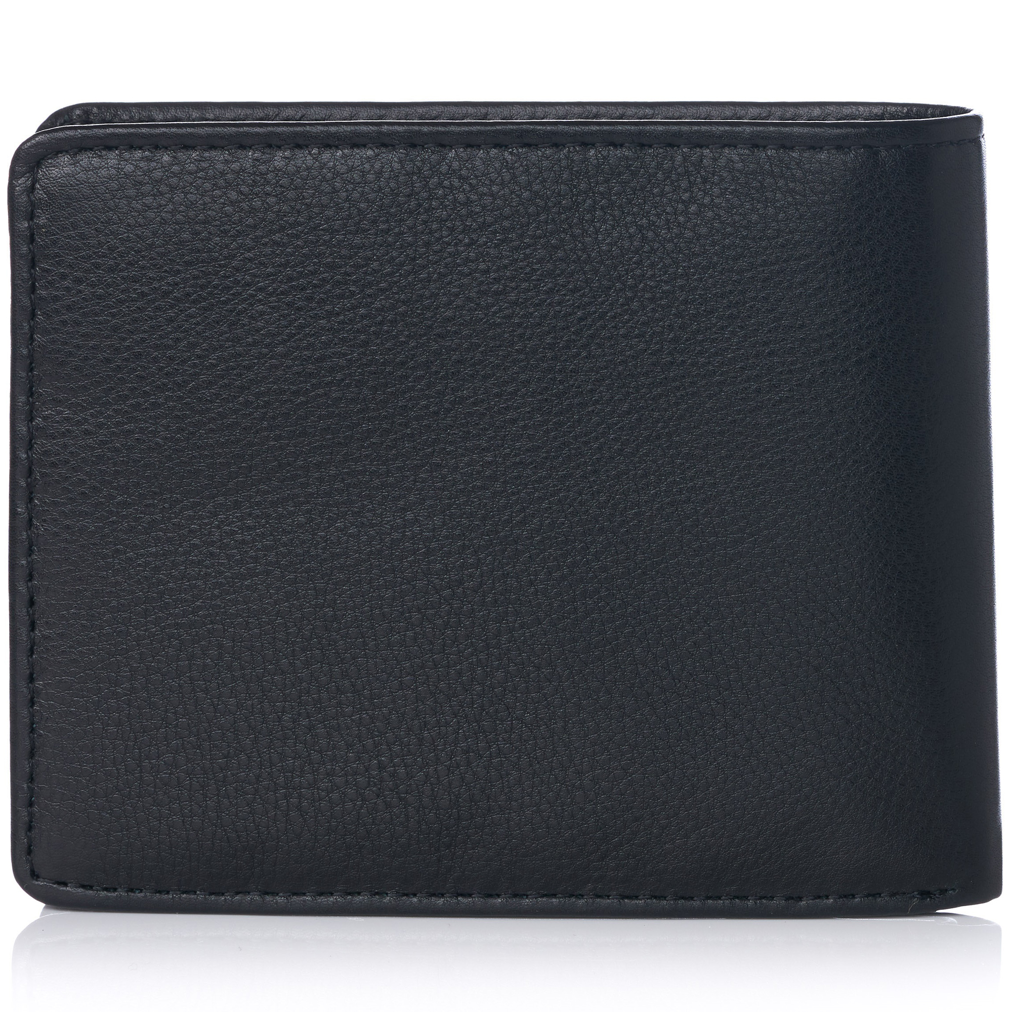 miniature 92 - Alpine-Swiss-RFID-Mens-Wallet-Deluxe-Capacity-Passcase-Bifold-Two-Bill-Sections