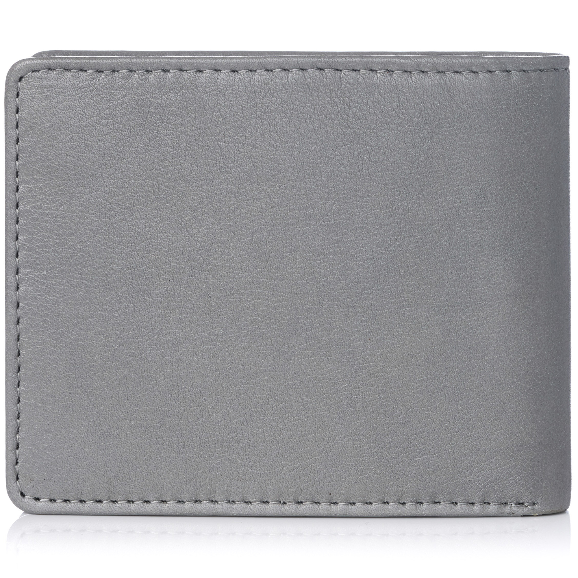 miniature 112 - Alpine-Swiss-RFID-Mens-Wallet-Deluxe-Capacity-Passcase-Bifold-Two-Bill-Sections