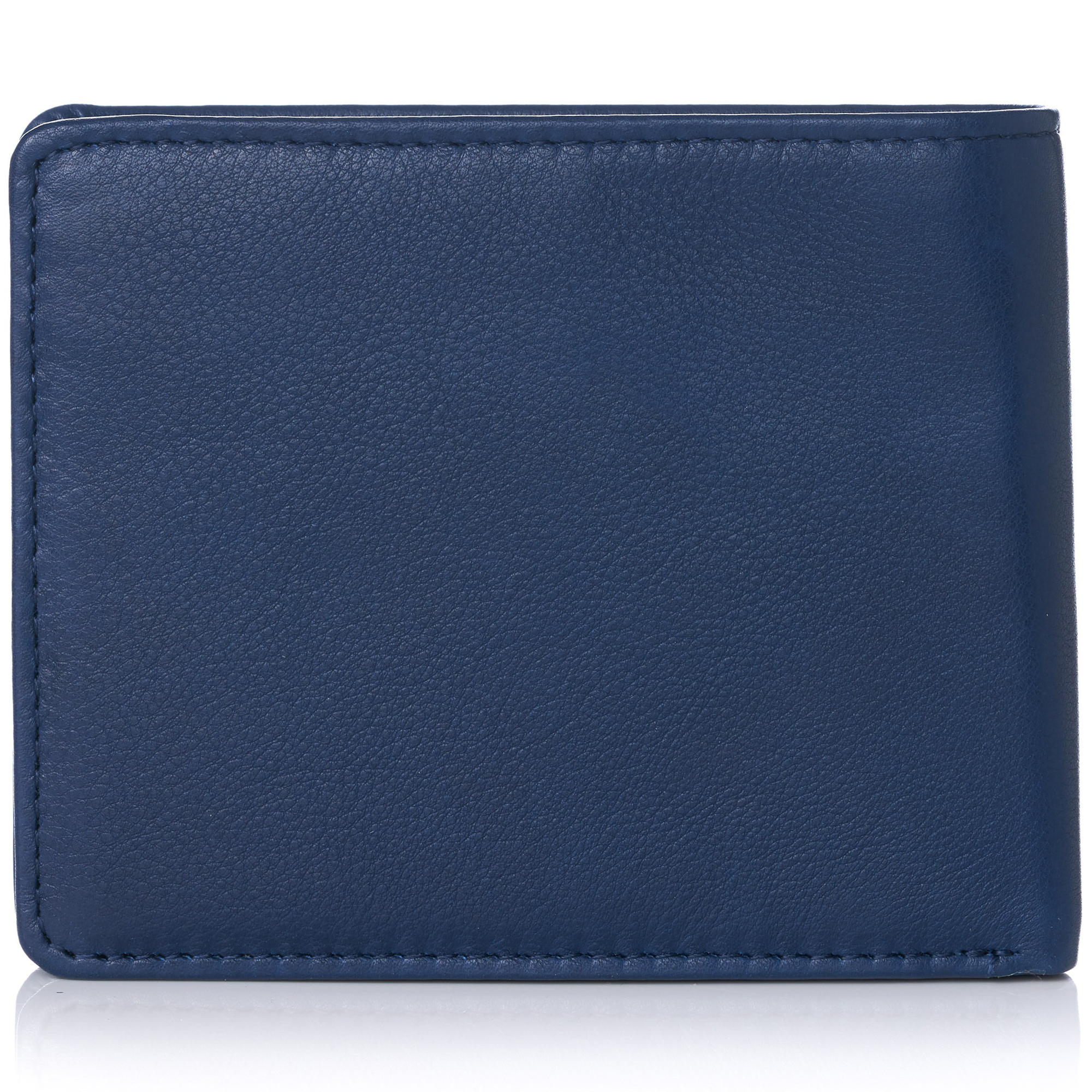 miniature 96 - Alpine-Swiss-RFID-Mens-Wallet-Deluxe-Capacity-Passcase-Bifold-Two-Bill-Sections