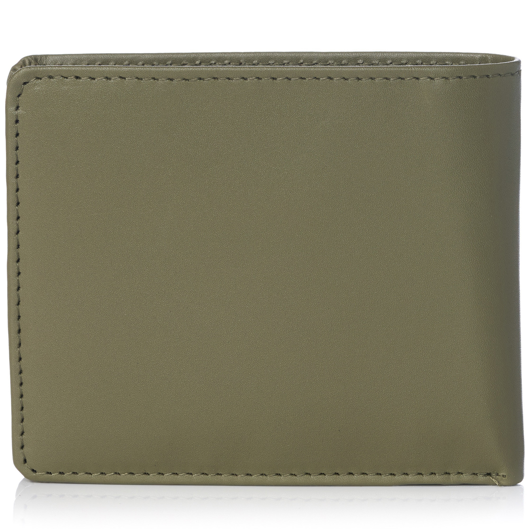 miniature 85 - Alpine-Swiss-RFID-Mens-Wallet-Deluxe-Capacity-Passcase-Bifold-Two-Bill-Sections