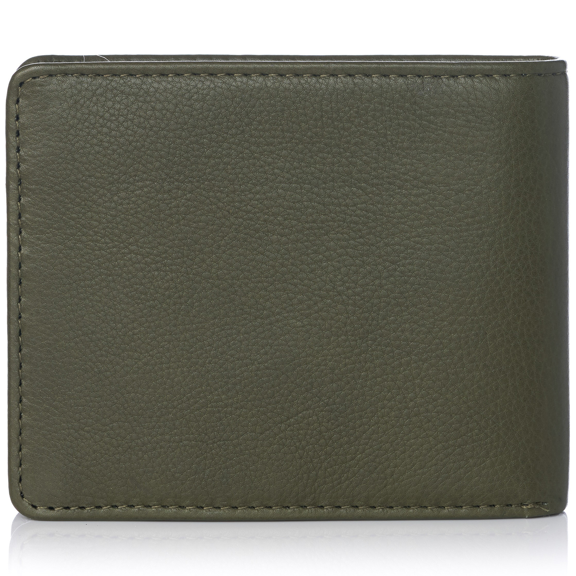miniature 116 - Alpine-Swiss-RFID-Mens-Wallet-Deluxe-Capacity-Passcase-Bifold-Two-Bill-Sections