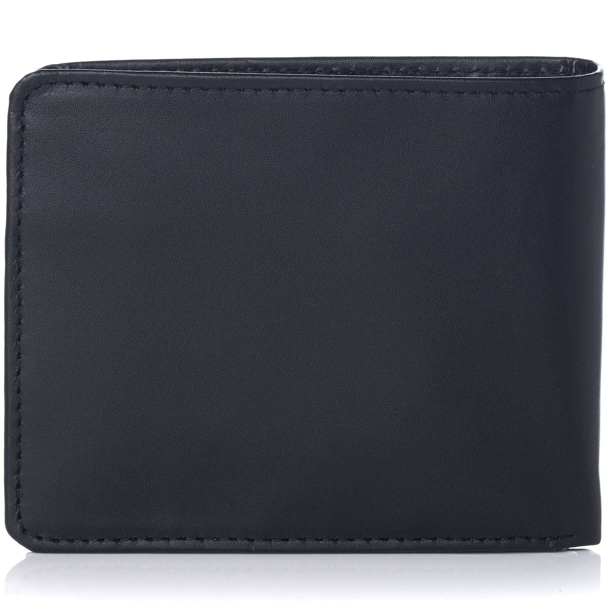 miniature 17 - Alpine-Swiss-RFID-Mens-Wallet-Deluxe-Capacity-Passcase-Bifold-Two-Bill-Sections