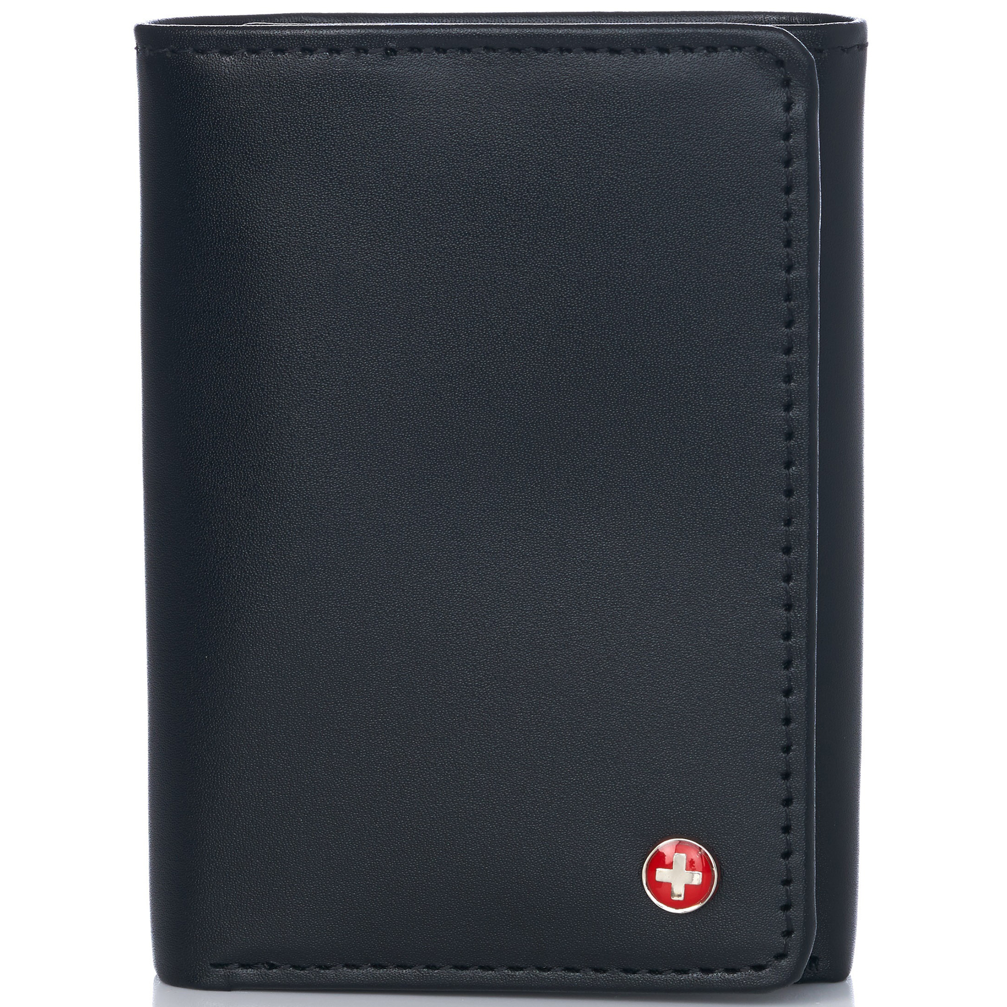 Alpine-Swiss-RFID-Mens-Wallet-Deluxe-Capacity-Trifold-With-Divided-Bill-Section thumbnail 51