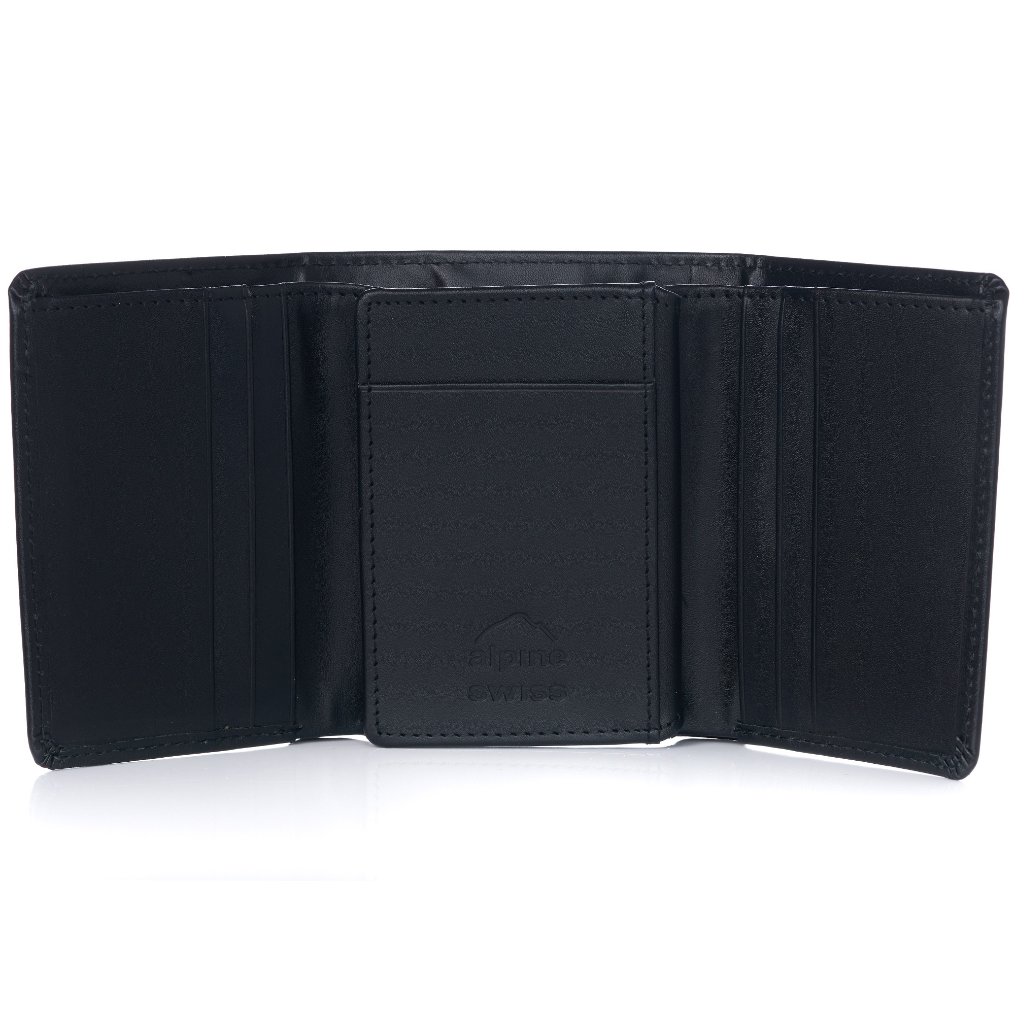 Alpine-Swiss-RFID-Mens-Wallet-Deluxe-Capacity-Trifold-With-Divided-Bill-Section thumbnail 50