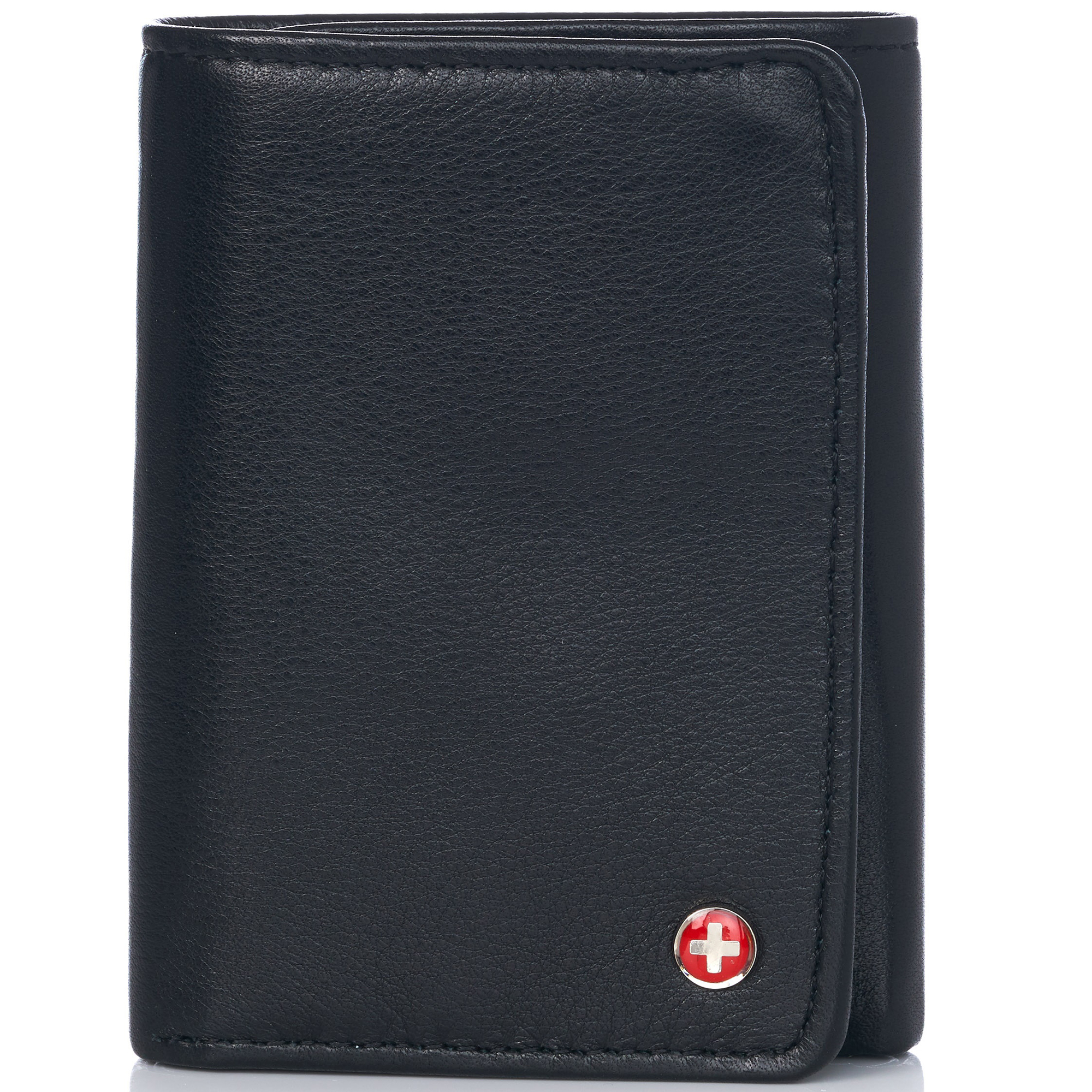 Alpine-Swiss-RFID-Mens-Wallet-Deluxe-Capacity-Trifold-With-Divided-Bill-Section thumbnail 86