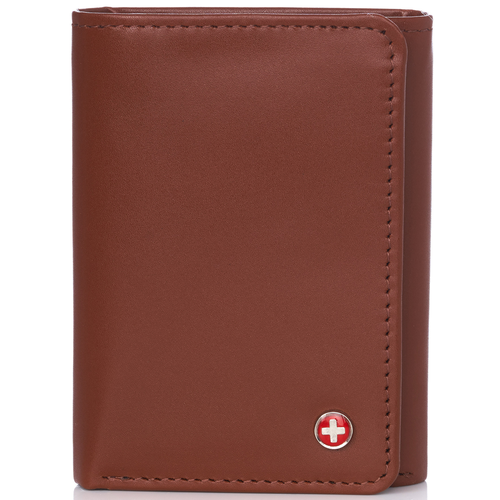 Alpine-Swiss-RFID-Mens-Wallet-Deluxe-Capacity-Trifold-With-Divided-Bill-Section thumbnail 81