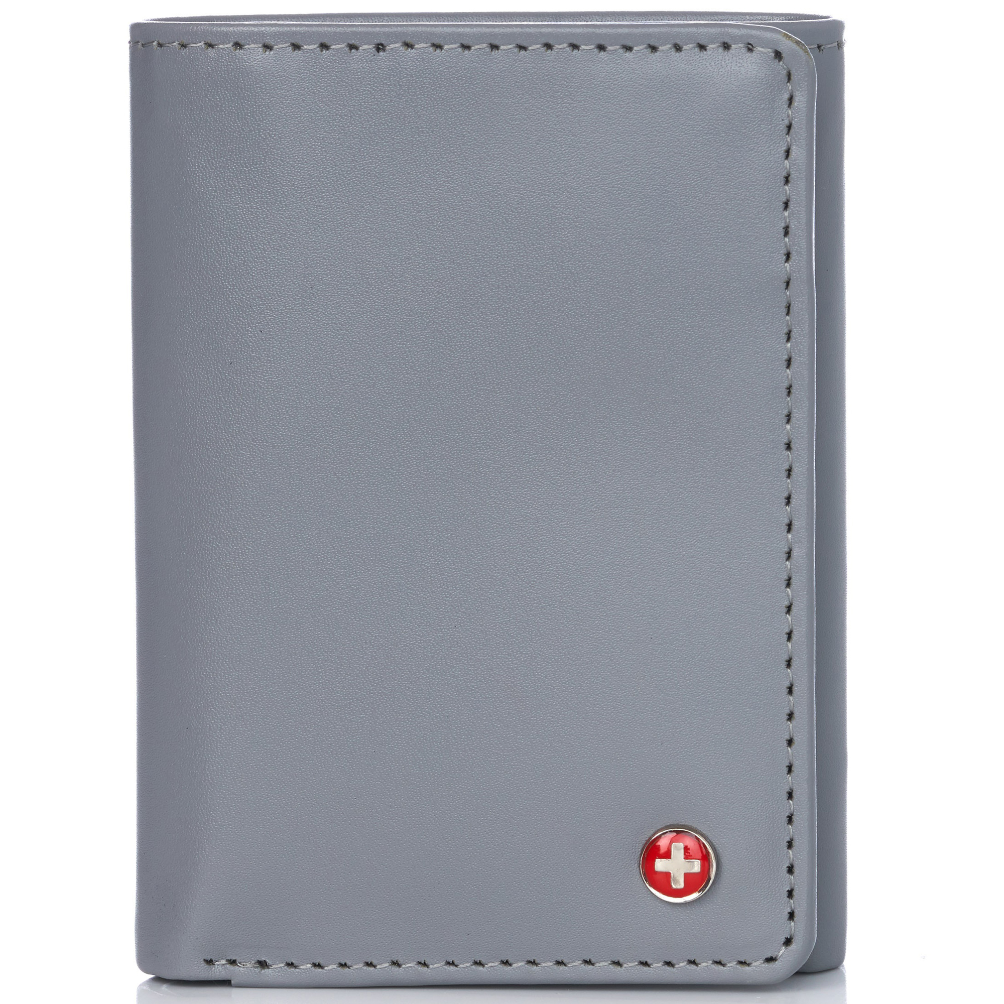 Alpine-Swiss-RFID-Mens-Wallet-Deluxe-Capacity-Trifold-With-Divided-Bill-Section thumbnail 71