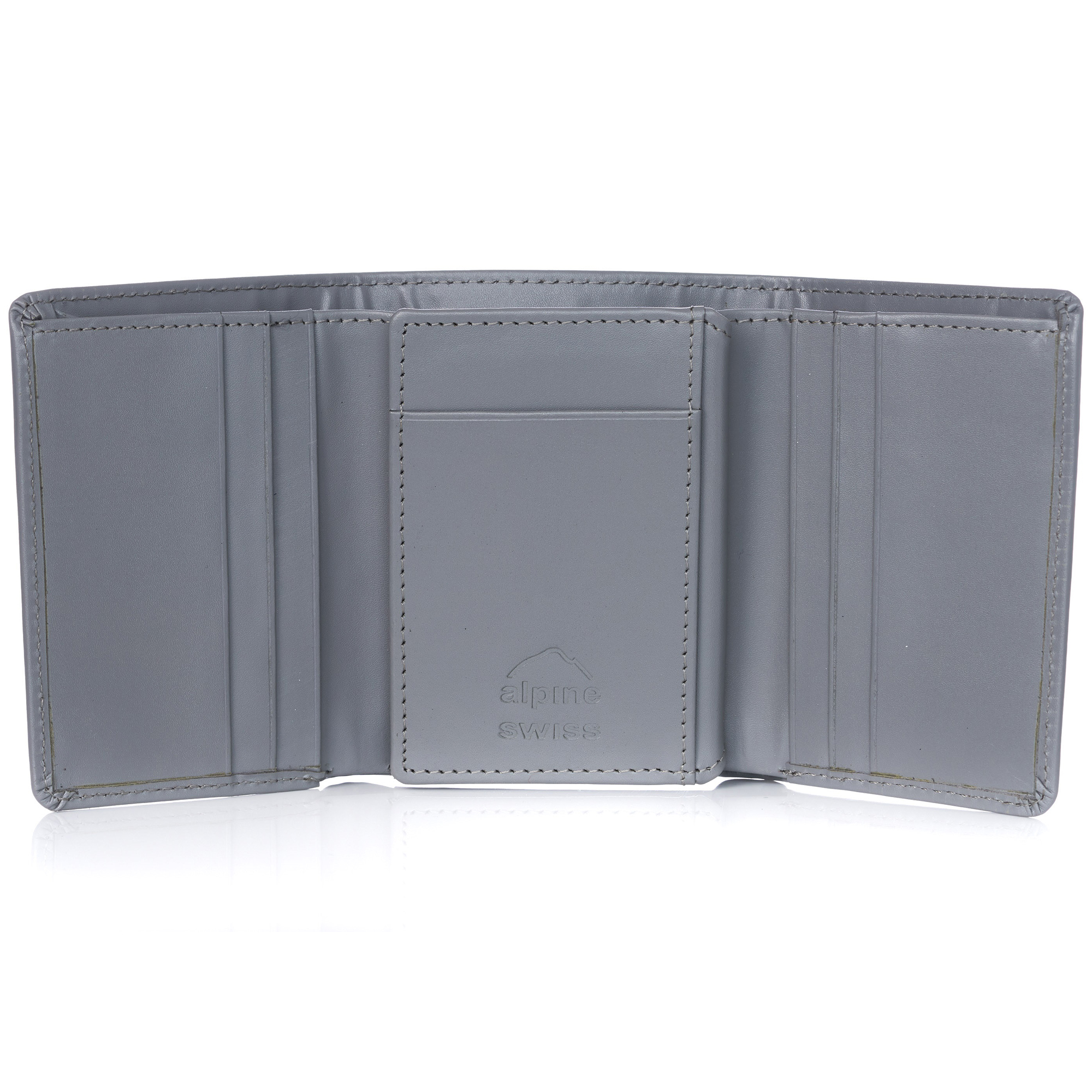 Alpine-Swiss-RFID-Mens-Wallet-Deluxe-Capacity-Trifold-With-Divided-Bill-Section thumbnail 70