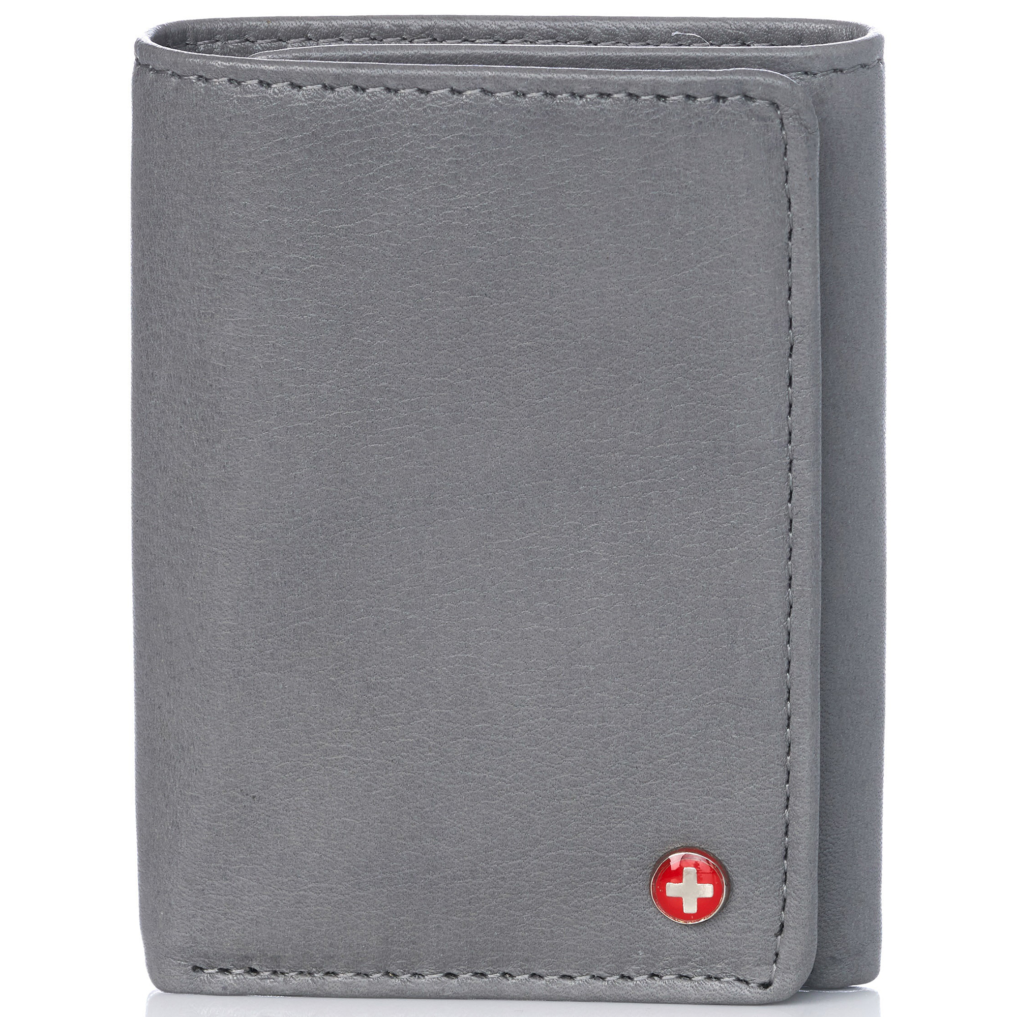 Alpine-Swiss-RFID-Mens-Wallet-Deluxe-Capacity-Trifold-With-Divided-Bill-Section thumbnail 105