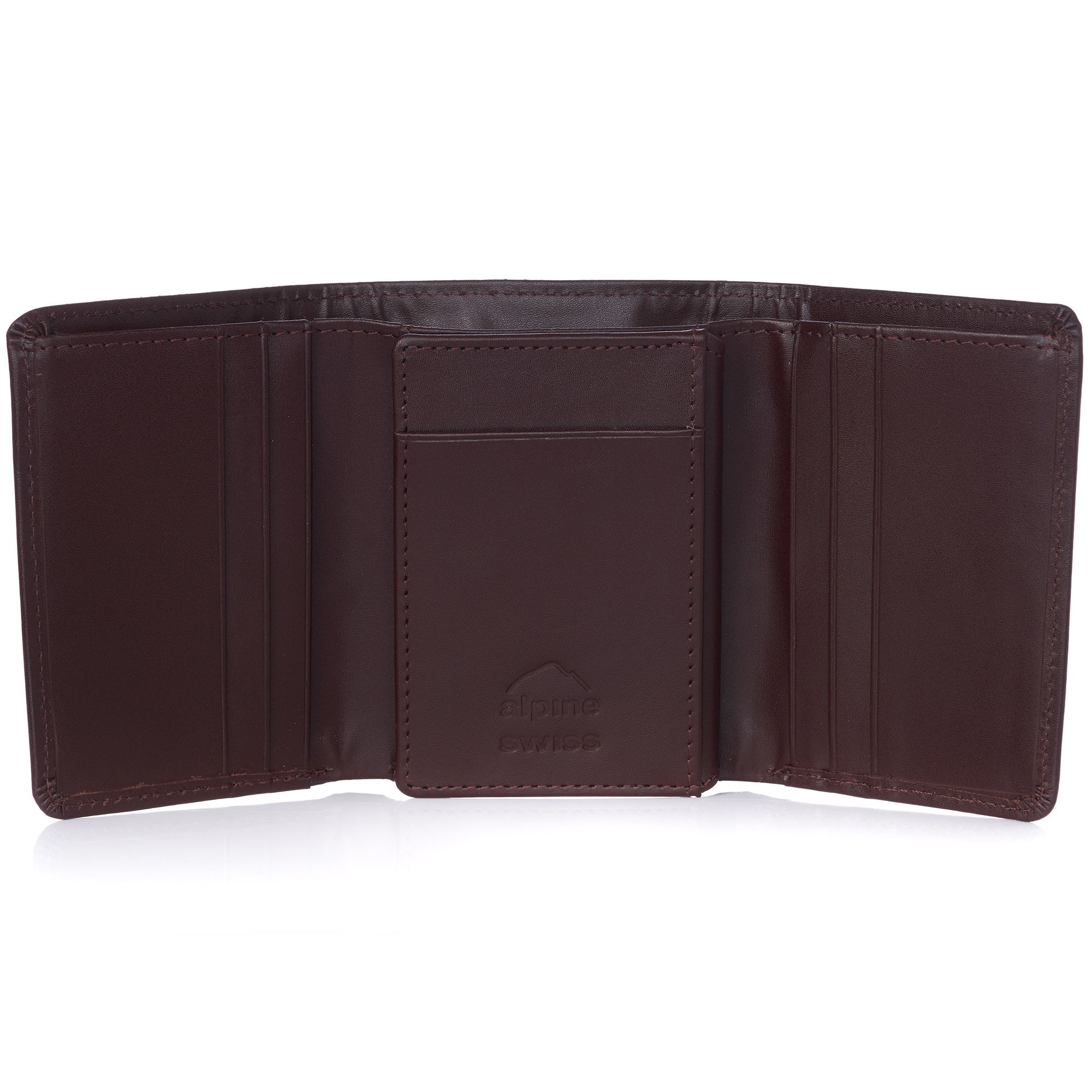 Alpine-Swiss-RFID-Mens-Wallet-Deluxe-Capacity-Trifold-With-Divided-Bill-Section thumbnail 65