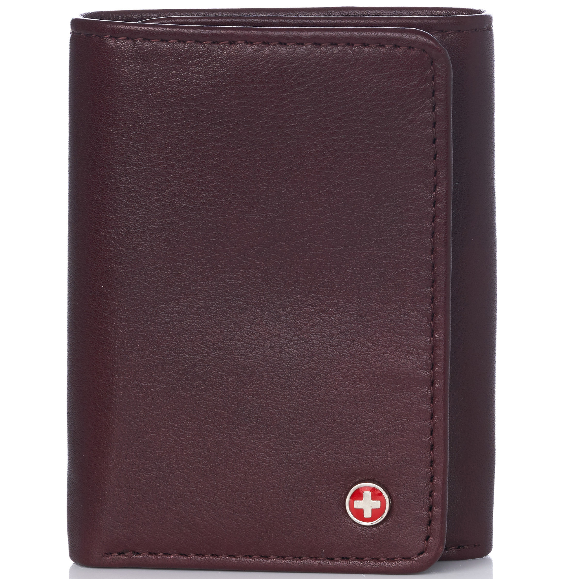 Alpine-Swiss-RFID-Mens-Wallet-Deluxe-Capacity-Trifold-With-Divided-Bill-Section thumbnail 100