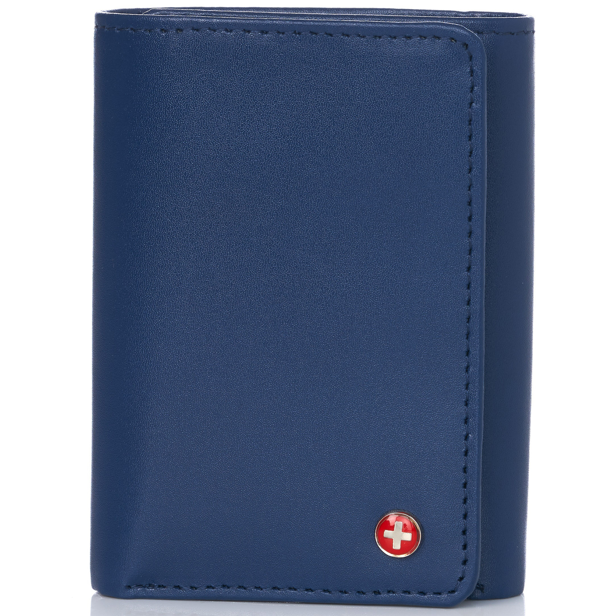 Alpine-Swiss-RFID-Mens-Wallet-Deluxe-Capacity-Trifold-With-Divided-Bill-Section thumbnail 56
