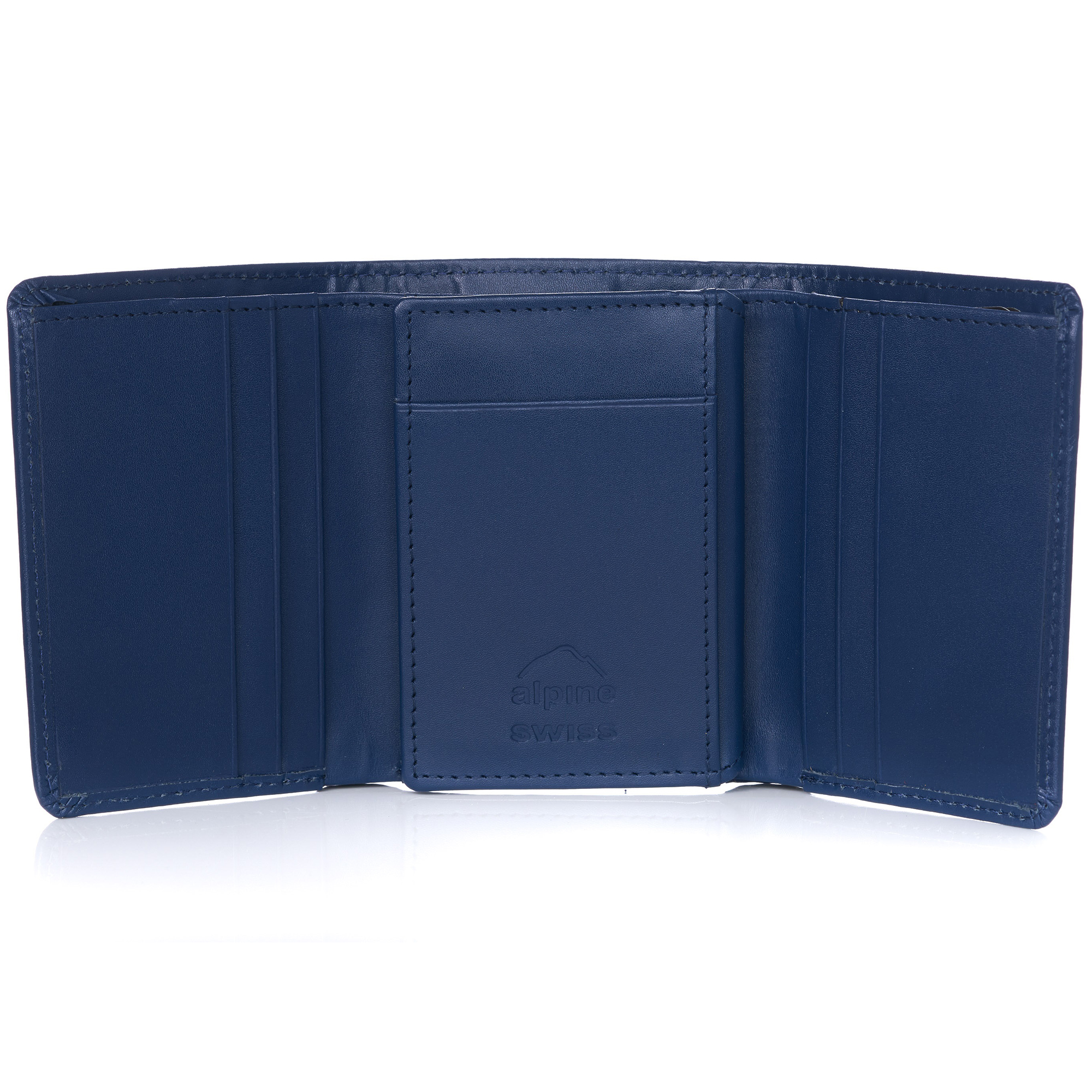 Alpine-Swiss-RFID-Mens-Wallet-Deluxe-Capacity-Trifold-With-Divided-Bill-Section thumbnail 55