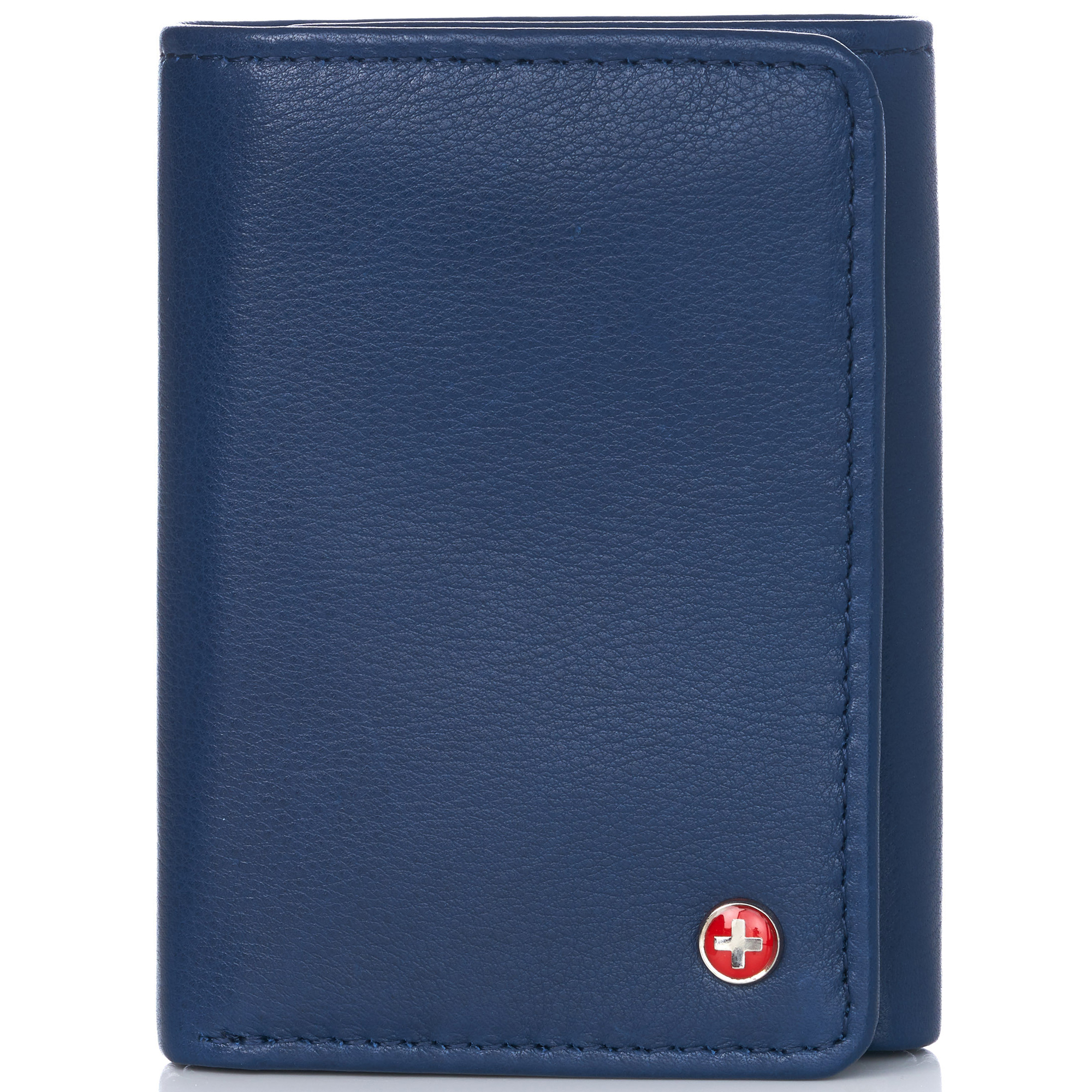 Alpine-Swiss-RFID-Mens-Wallet-Deluxe-Capacity-Trifold-With-Divided-Bill-Section thumbnail 91