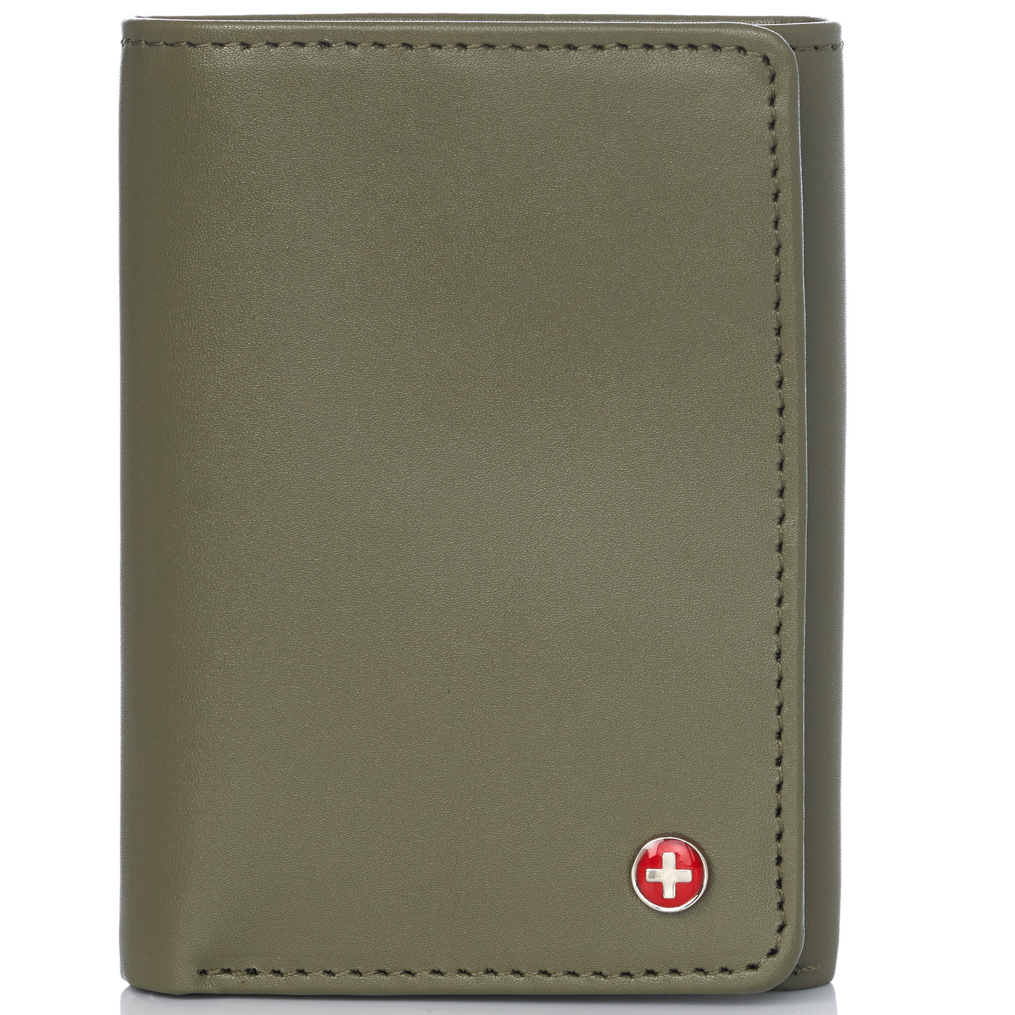 Alpine-Swiss-RFID-Mens-Wallet-Deluxe-Capacity-Trifold-With-Divided-Bill-Section thumbnail 76