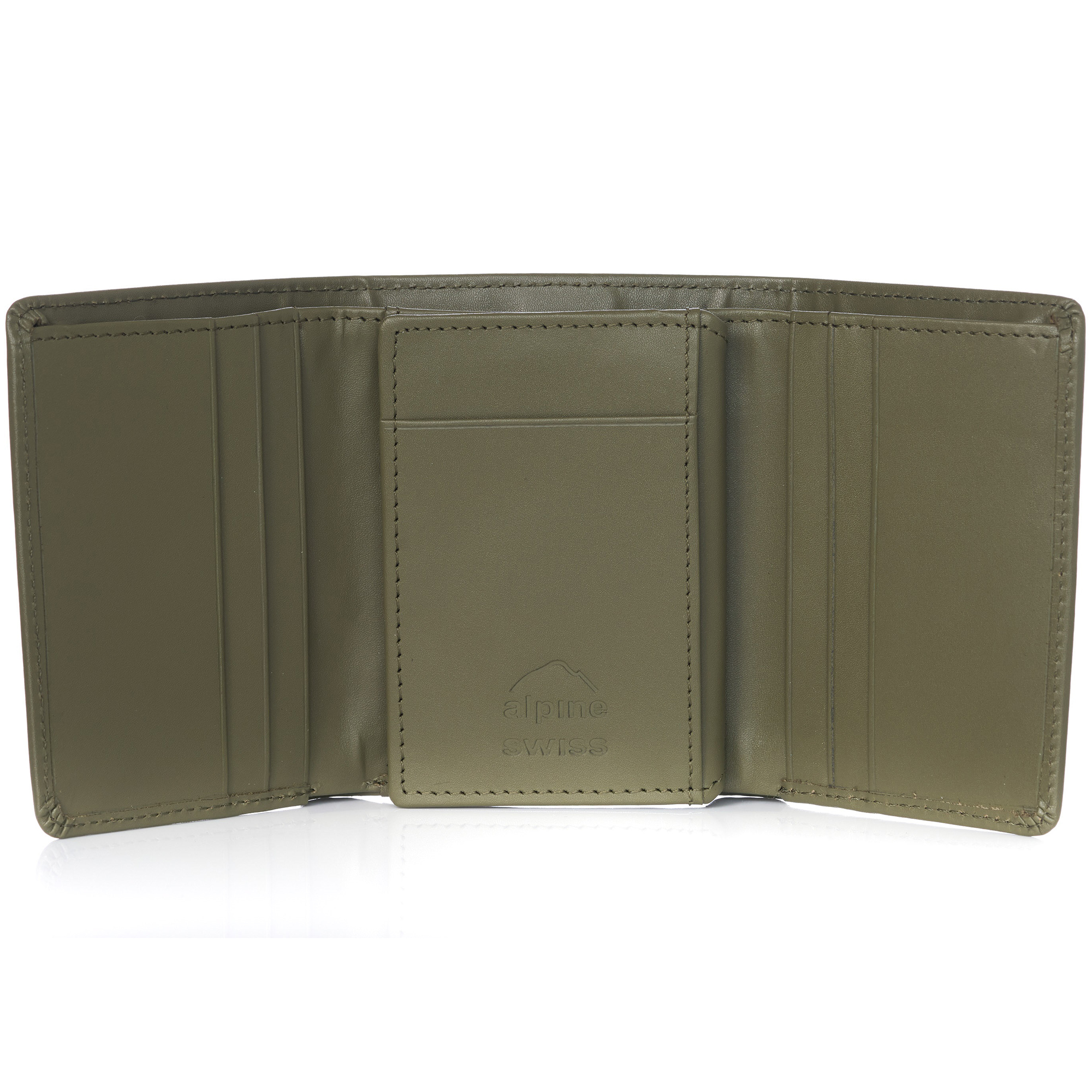Alpine-Swiss-RFID-Mens-Wallet-Deluxe-Capacity-Trifold-With-Divided-Bill-Section thumbnail 75