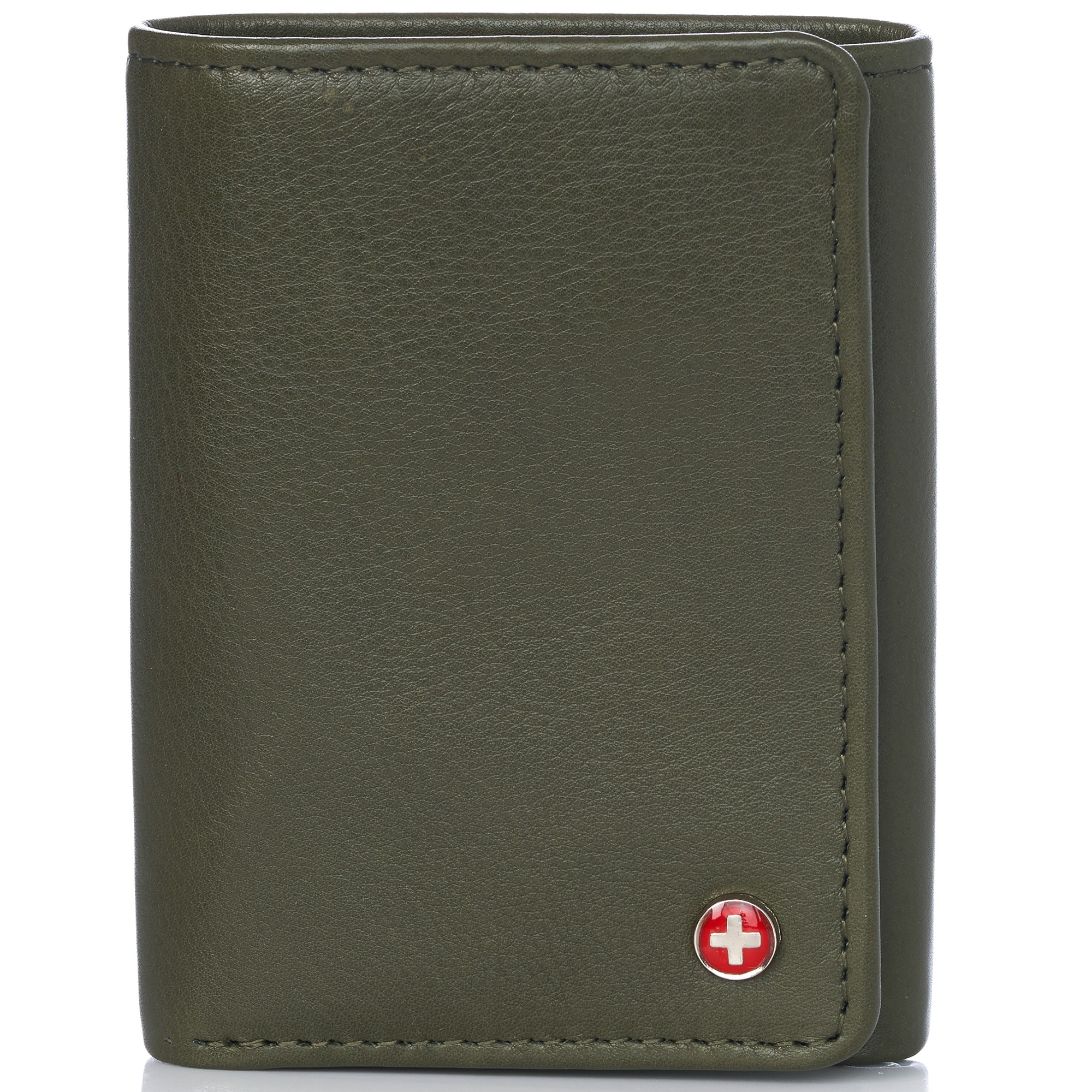 Alpine-Swiss-RFID-Mens-Wallet-Deluxe-Capacity-Trifold-With-Divided-Bill-Section thumbnail 110
