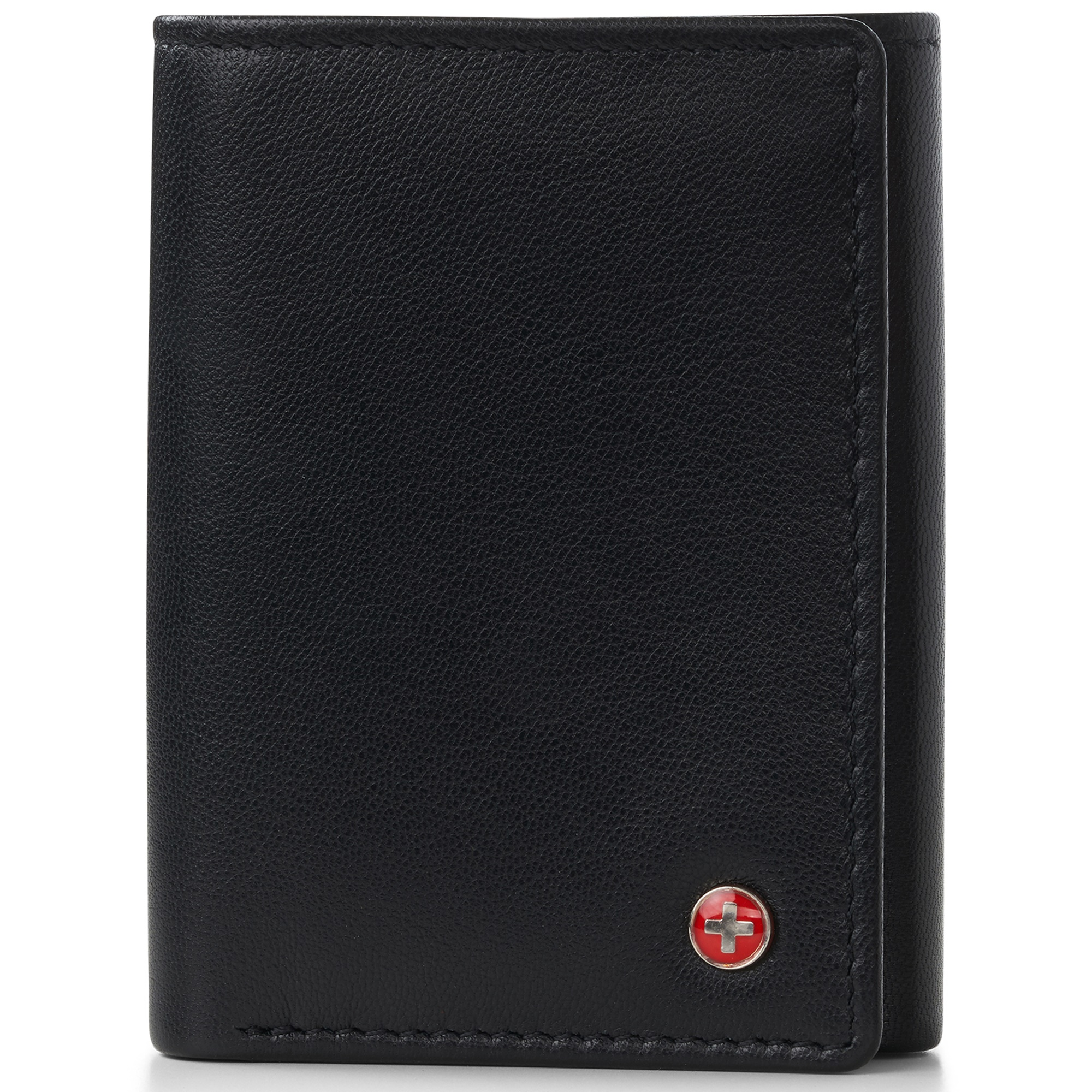 Alpine-Swiss-RFID-Mens-Wallet-Deluxe-Capacity-Trifold-With-Divided-Bill-Section thumbnail 15