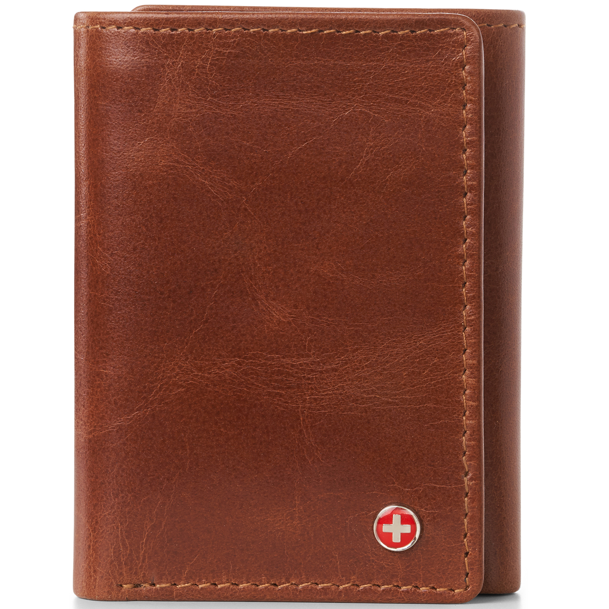 Alpine-Swiss-RFID-Mens-Wallet-Deluxe-Capacity-Trifold-With-Divided-Bill-Section thumbnail 24