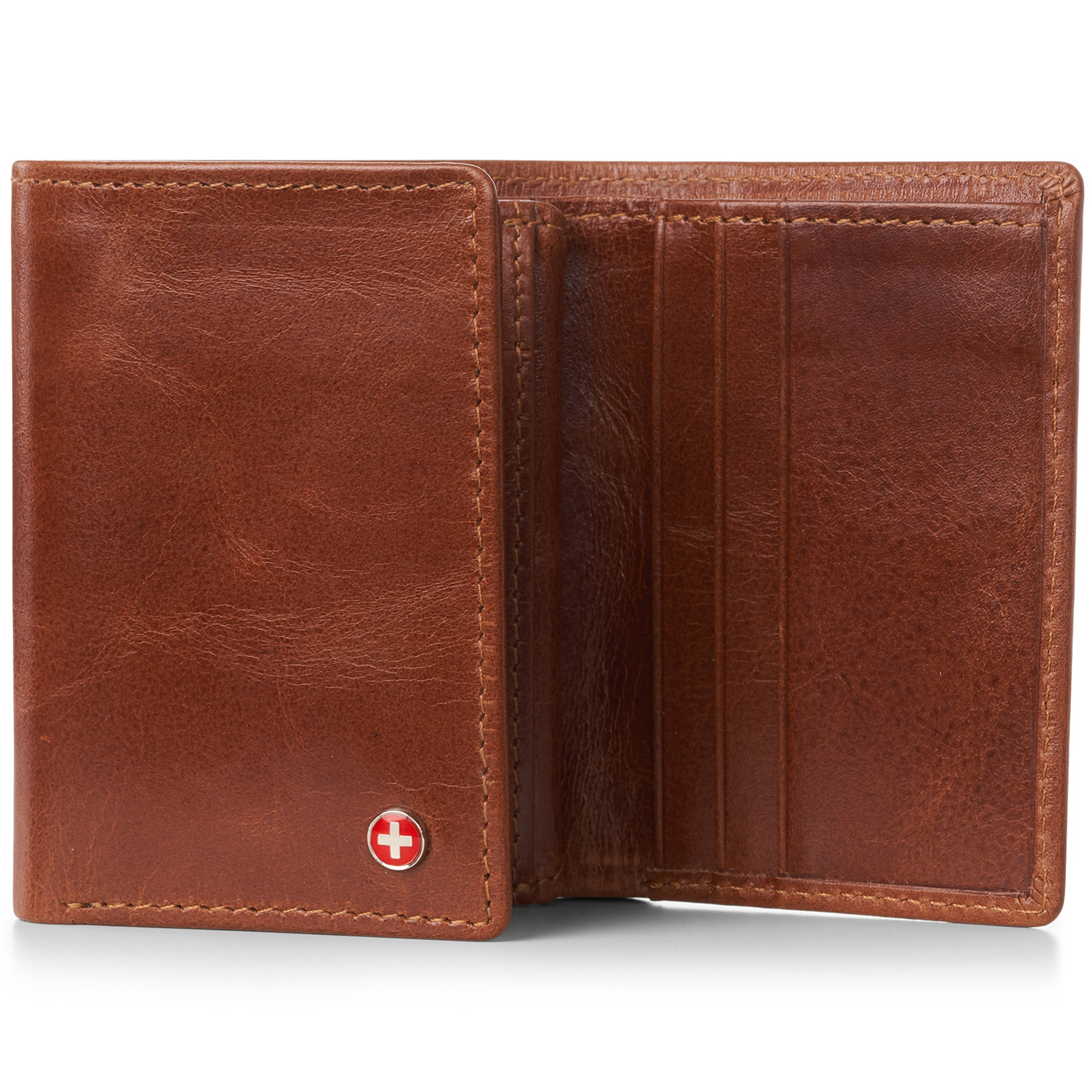 Alpine-Swiss-RFID-Mens-Wallet-Deluxe-Capacity-Trifold-With-Divided-Bill-Section thumbnail 26