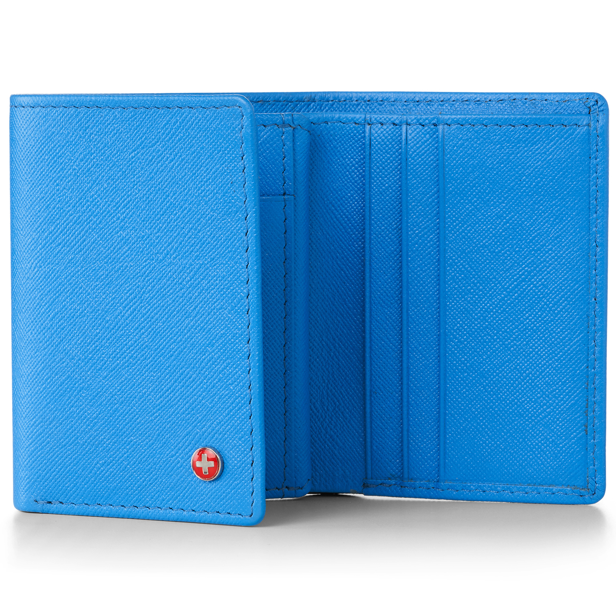 Alpine-Swiss-RFID-Mens-Wallet-Deluxe-Capacity-Trifold-With-Divided-Bill-Section thumbnail 35