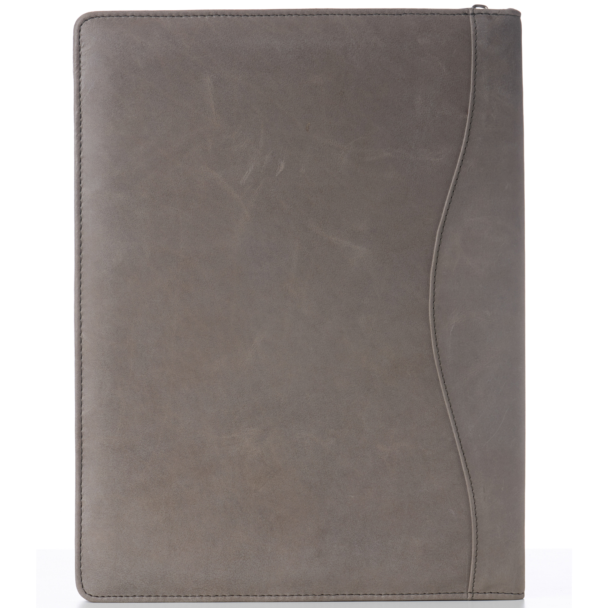 thumbnail 39 - Alpine Swiss Leather Zippered Writing Pad Portfolio Business Briefcase Organizer