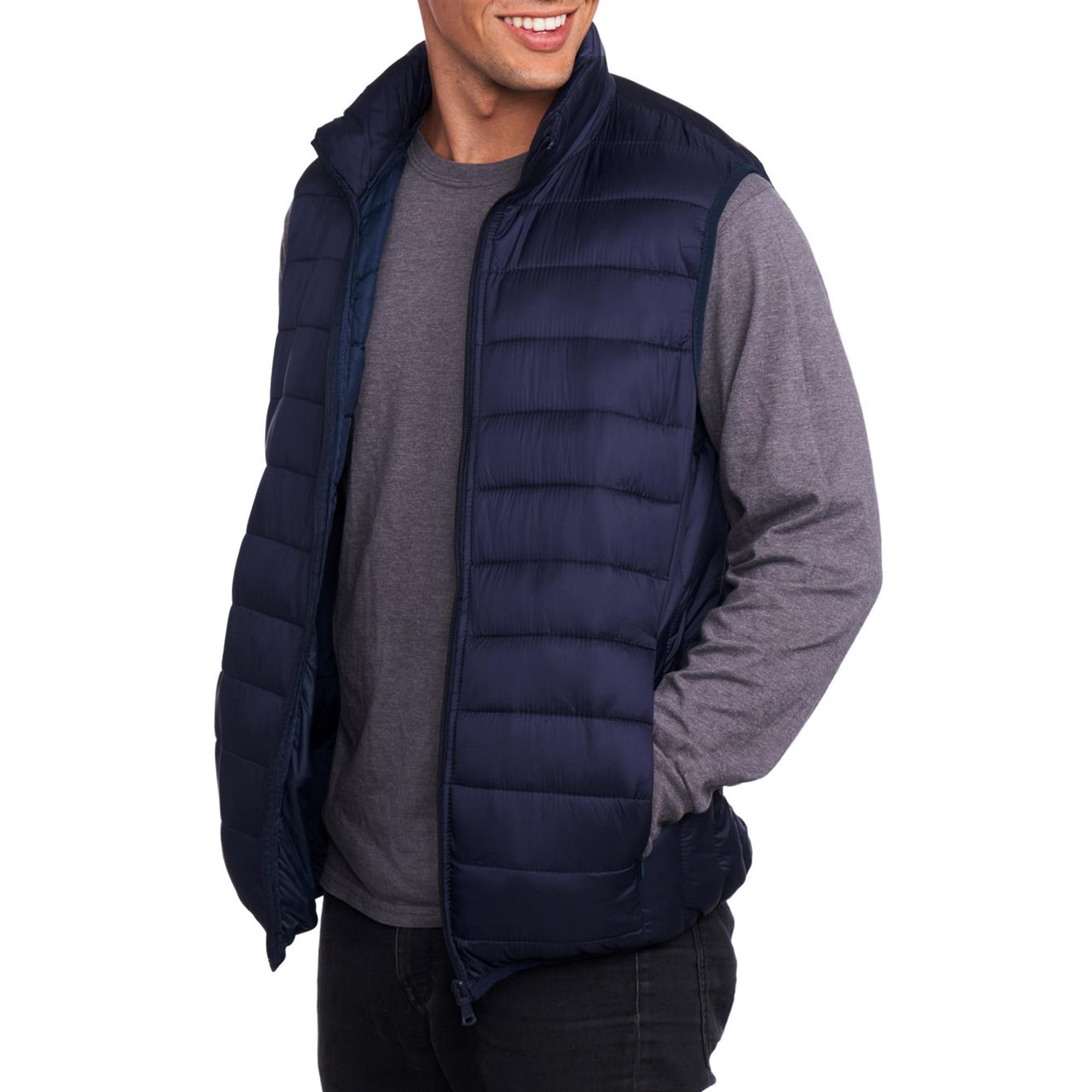 42f50160d74 Alpine Swiss Mens Down Alternative Vest Jacket Lightweight Packable ...