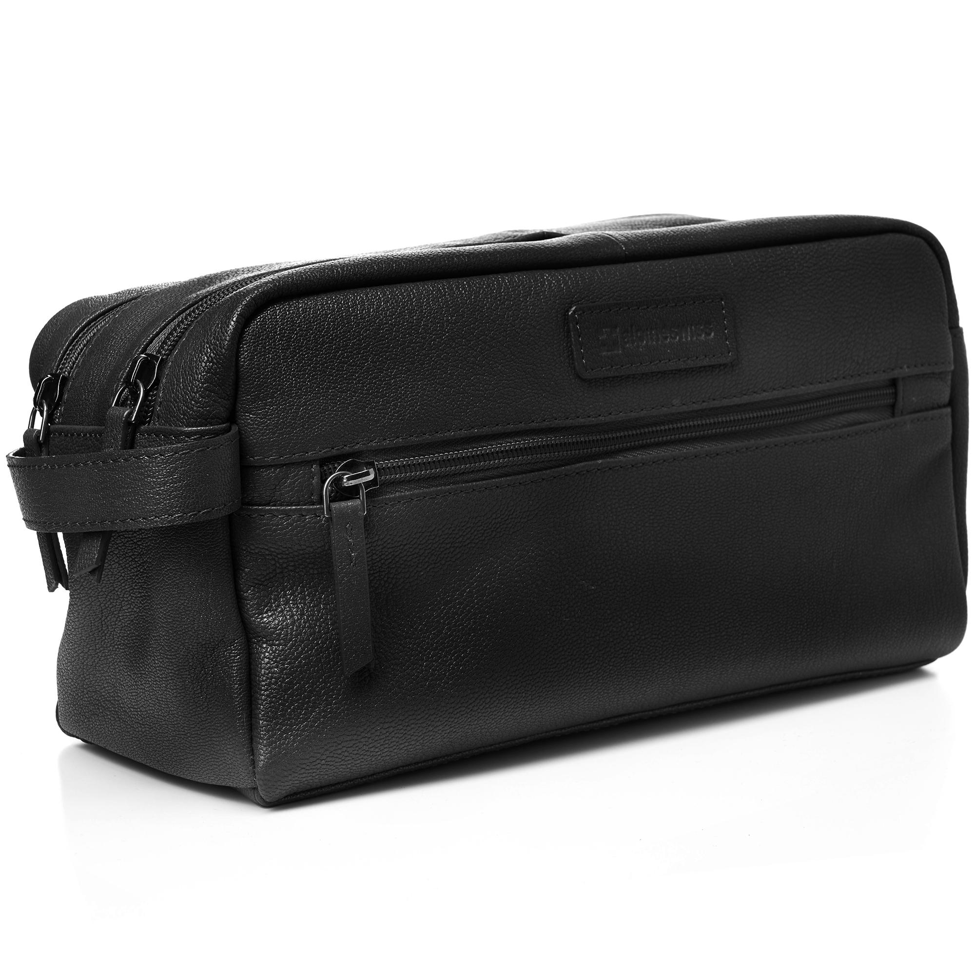 AlpineSwiss-Sedona-Toiletry-Bag-Genuine-Leather-Shaving-Kit-Dopp-Kit-Travel-Case thumbnail 13