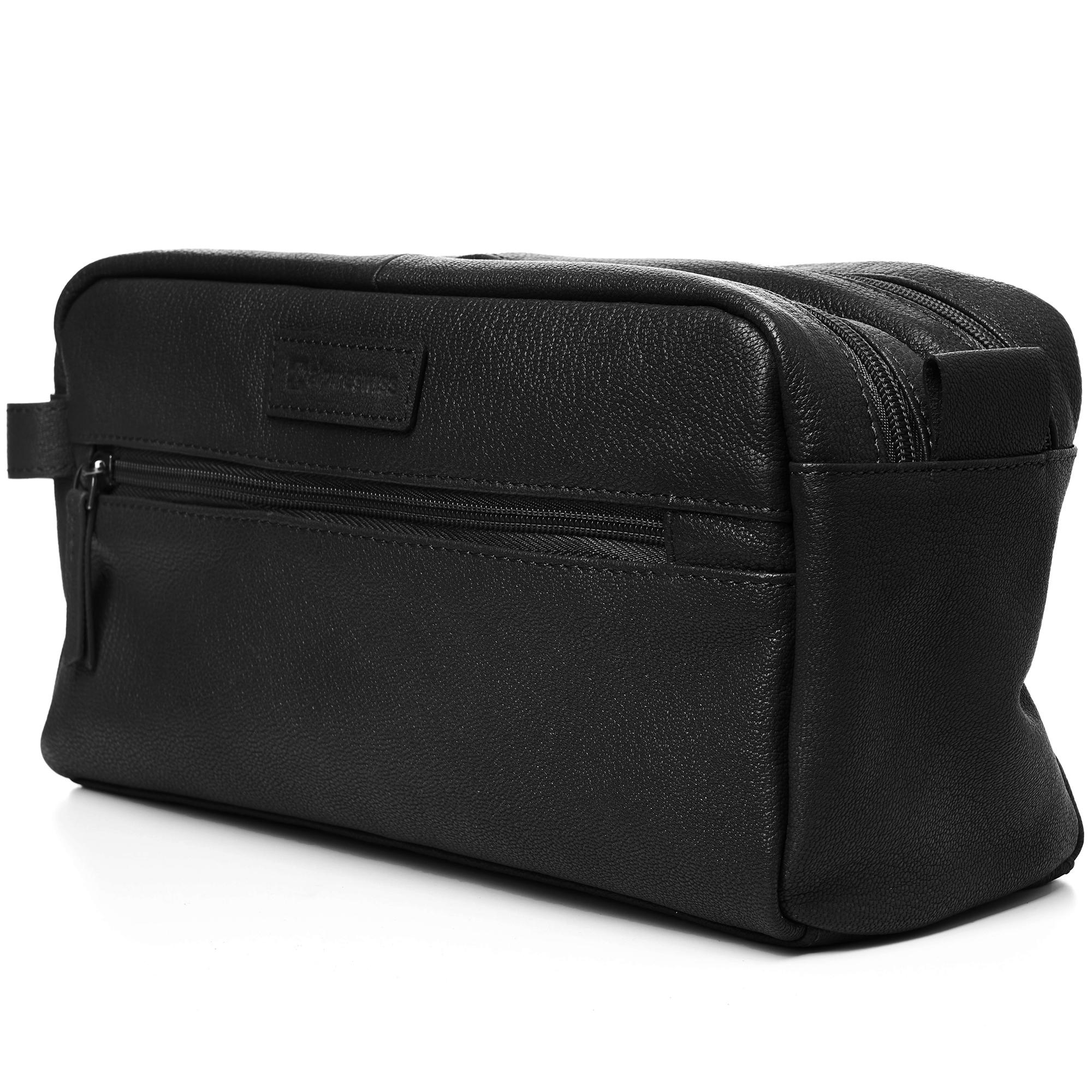 AlpineSwiss-Sedona-Toiletry-Bag-Genuine-Leather-Shaving-Kit-Dopp-Kit-Travel-Case thumbnail 15