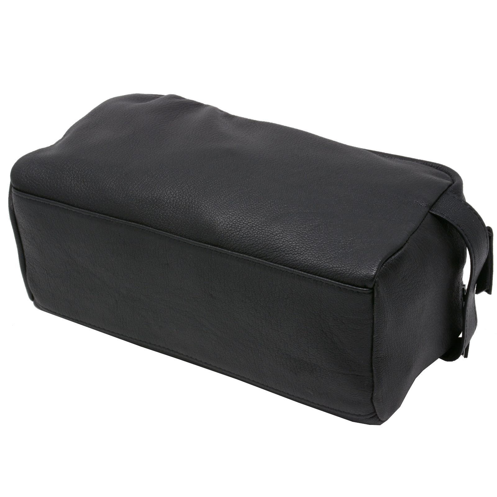 AlpineSwiss-Sedona-Toiletry-Bag-Genuine-Leather-Shaving-Kit-Dopp-Kit-Travel-Case thumbnail 18