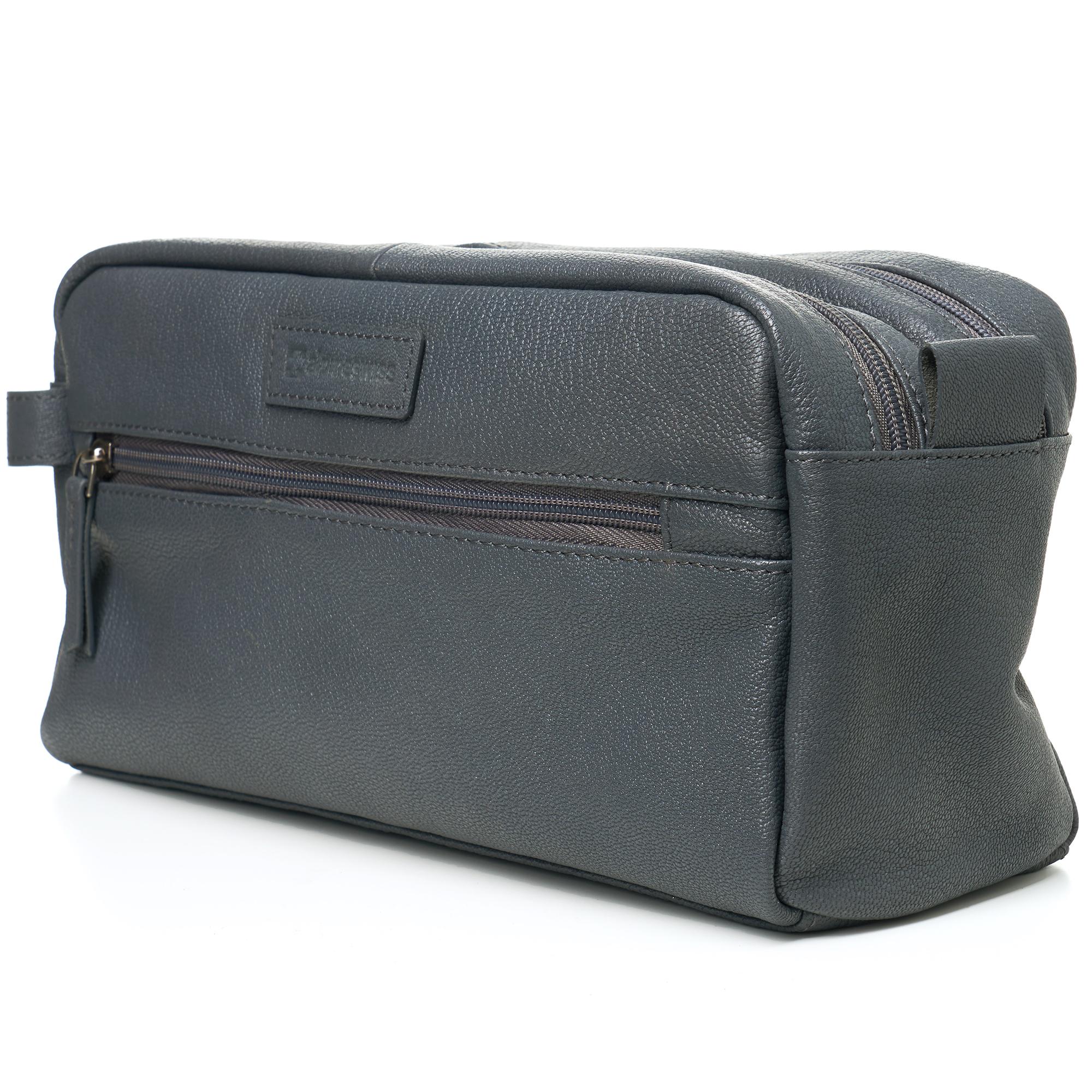 AlpineSwiss-Sedona-Toiletry-Bag-Genuine-Leather-Shaving-Kit-Dopp-Kit-Travel-Case thumbnail 28