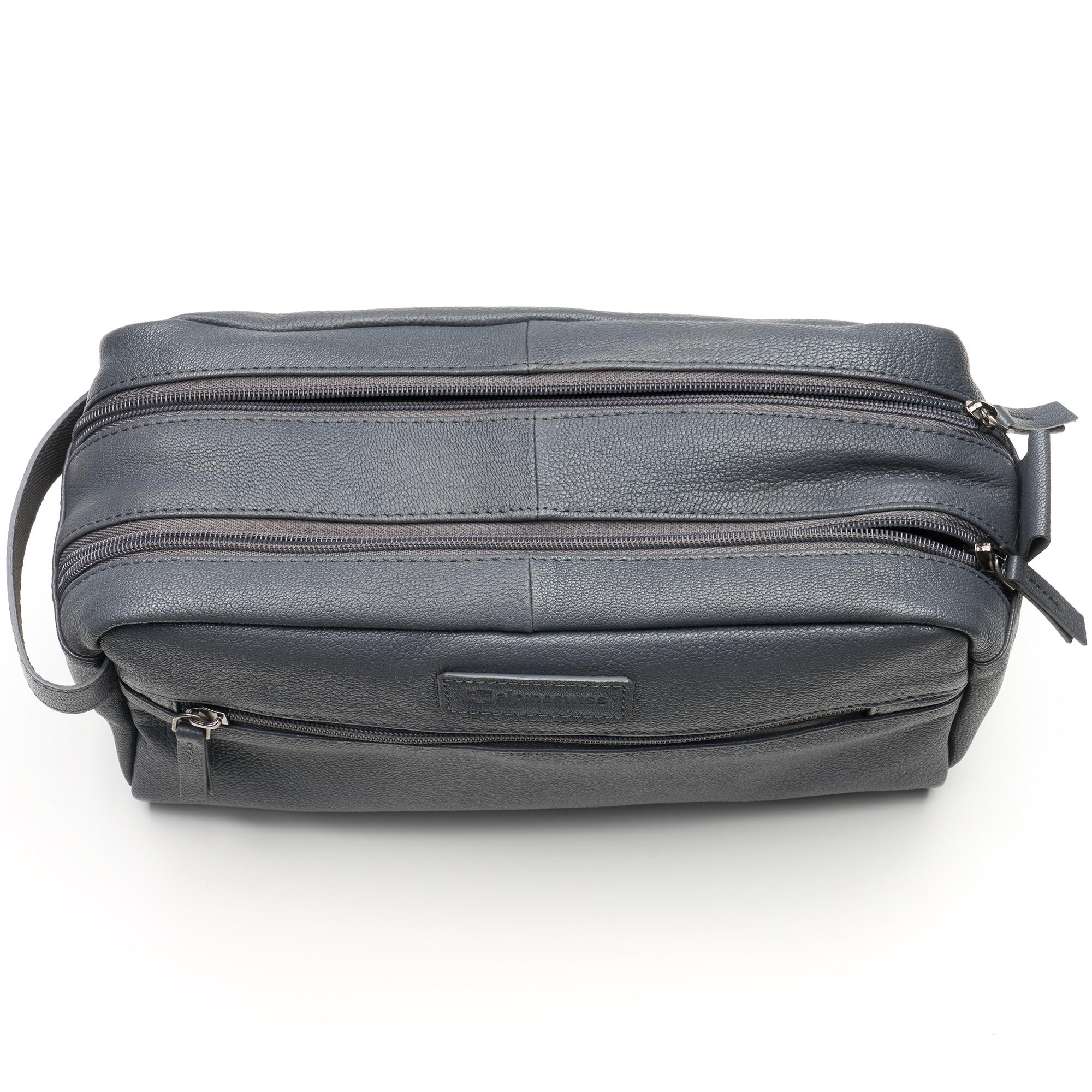 AlpineSwiss-Sedona-Toiletry-Bag-Genuine-Leather-Shaving-Kit-Dopp-Kit-Travel-Case thumbnail 30