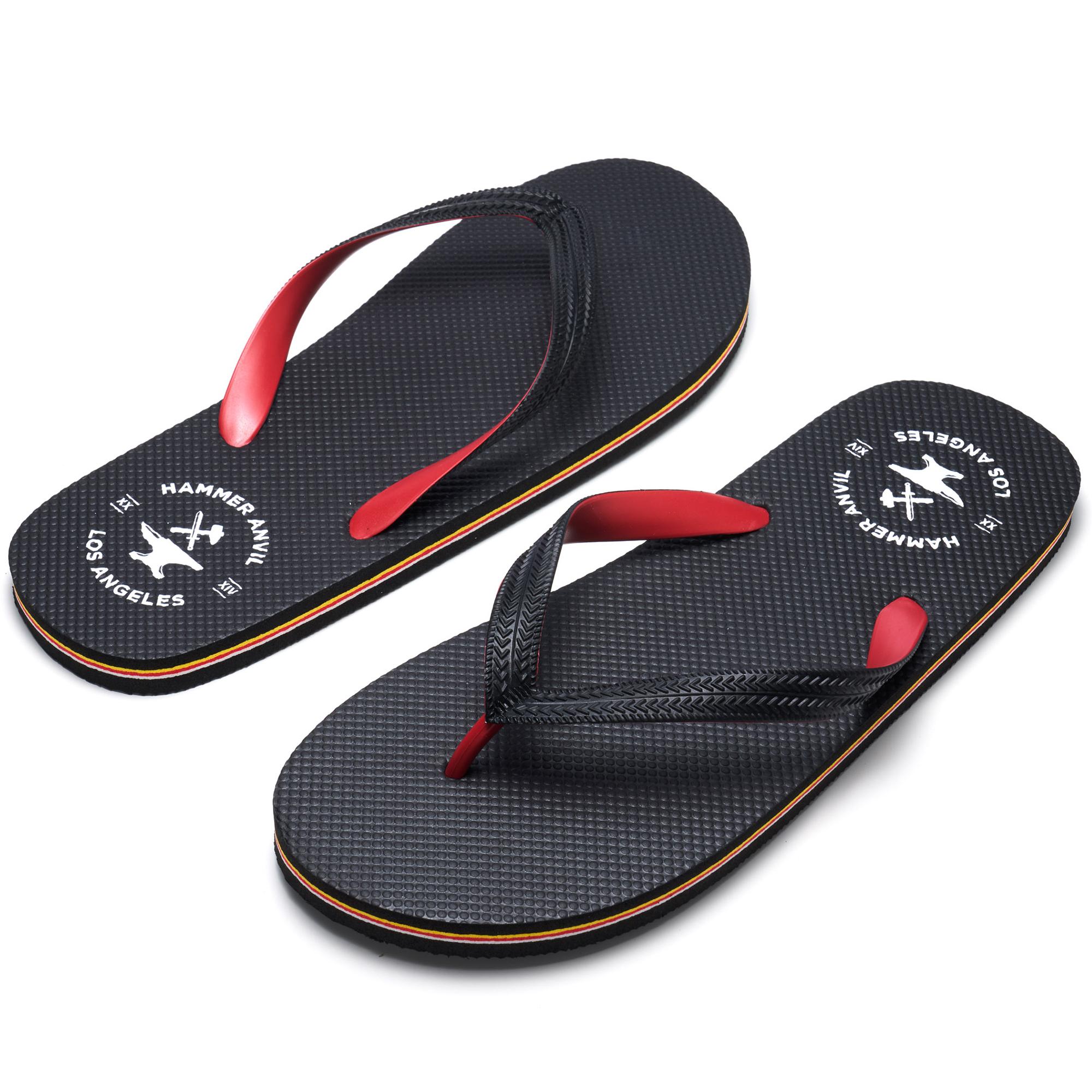 Hammer-Anvil-Mens-Flip-Flops-Casual-Thong-Summer-Sandals-Comfortable-Beach-Shoes thumbnail 32