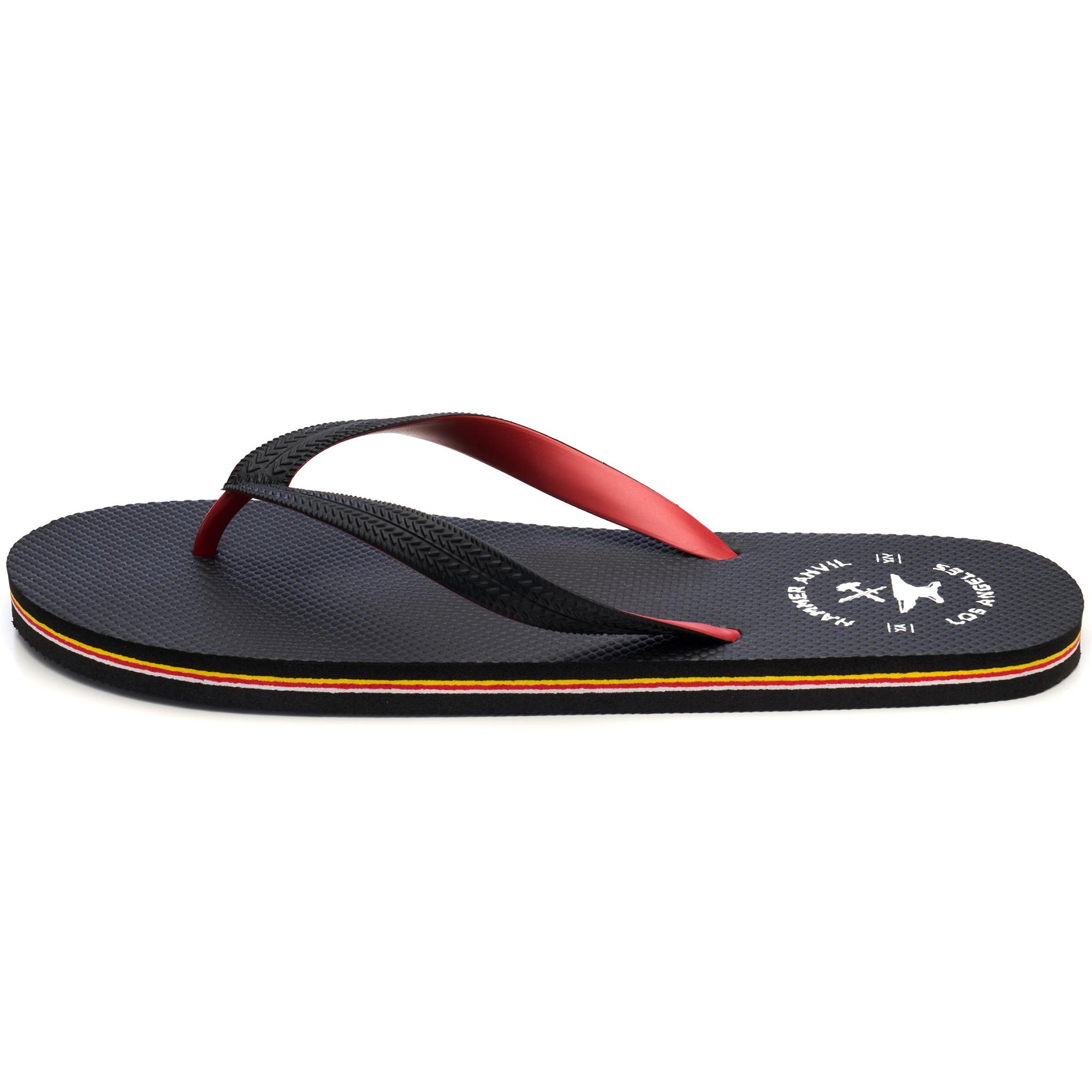 Hammer-Anvil-Mens-Flip-Flops-Casual-Thong-Summer-Sandals-Comfortable-Beach-Shoes thumbnail 31