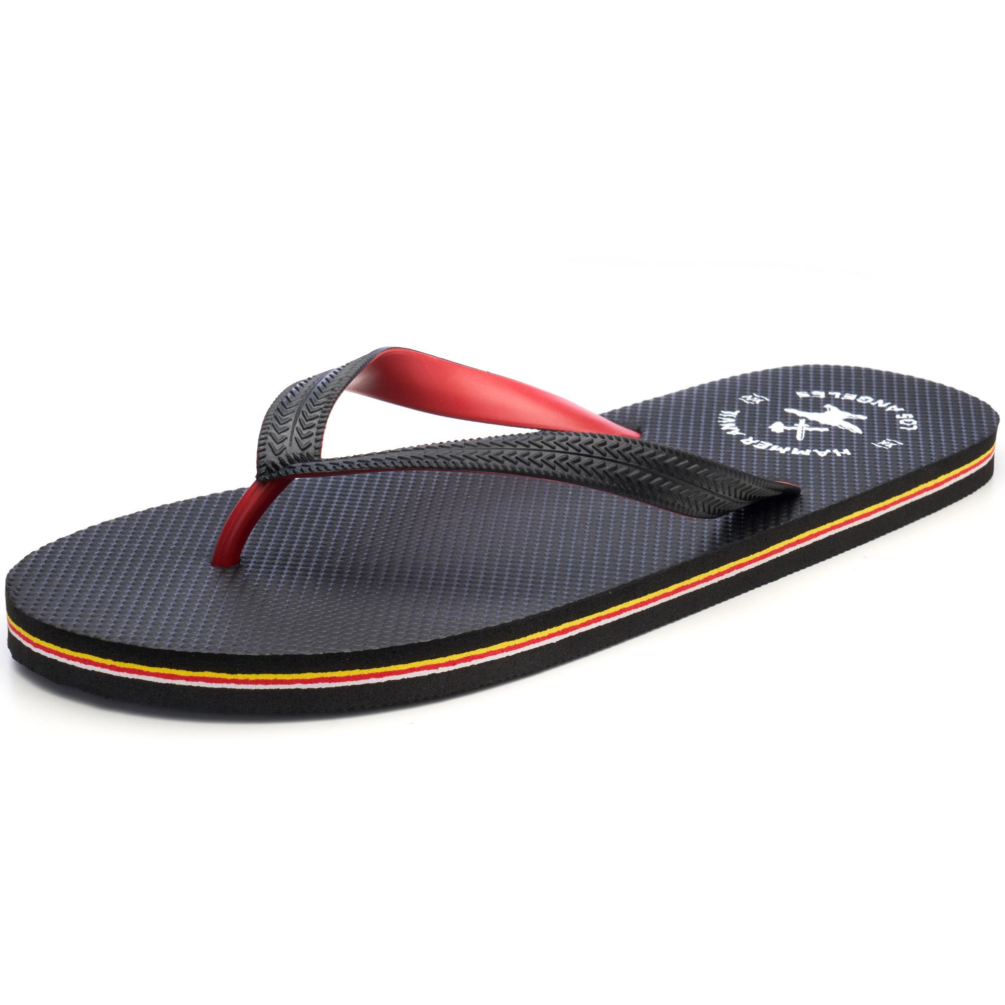 Hammer-Anvil-Mens-Flip-Flops-Casual-Thong-Summer-Sandals-Comfortable-Beach-Shoes thumbnail 30