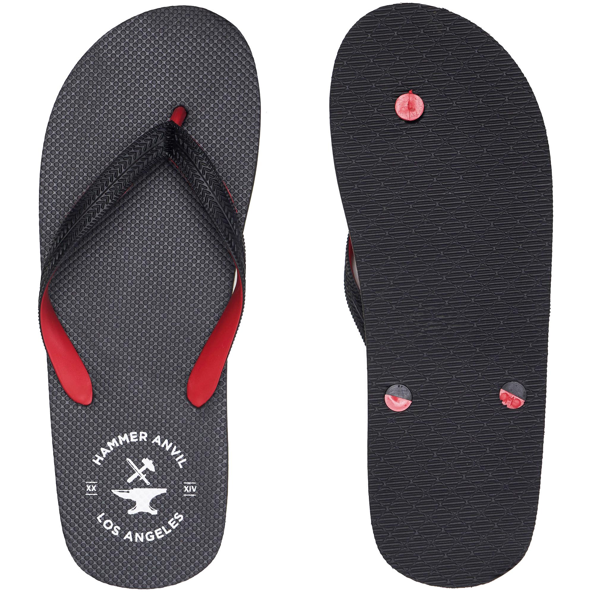 Hammer-Anvil-Mens-Flip-Flops-Casual-Thong-Summer-Sandals-Comfortable-Beach-Shoes thumbnail 33
