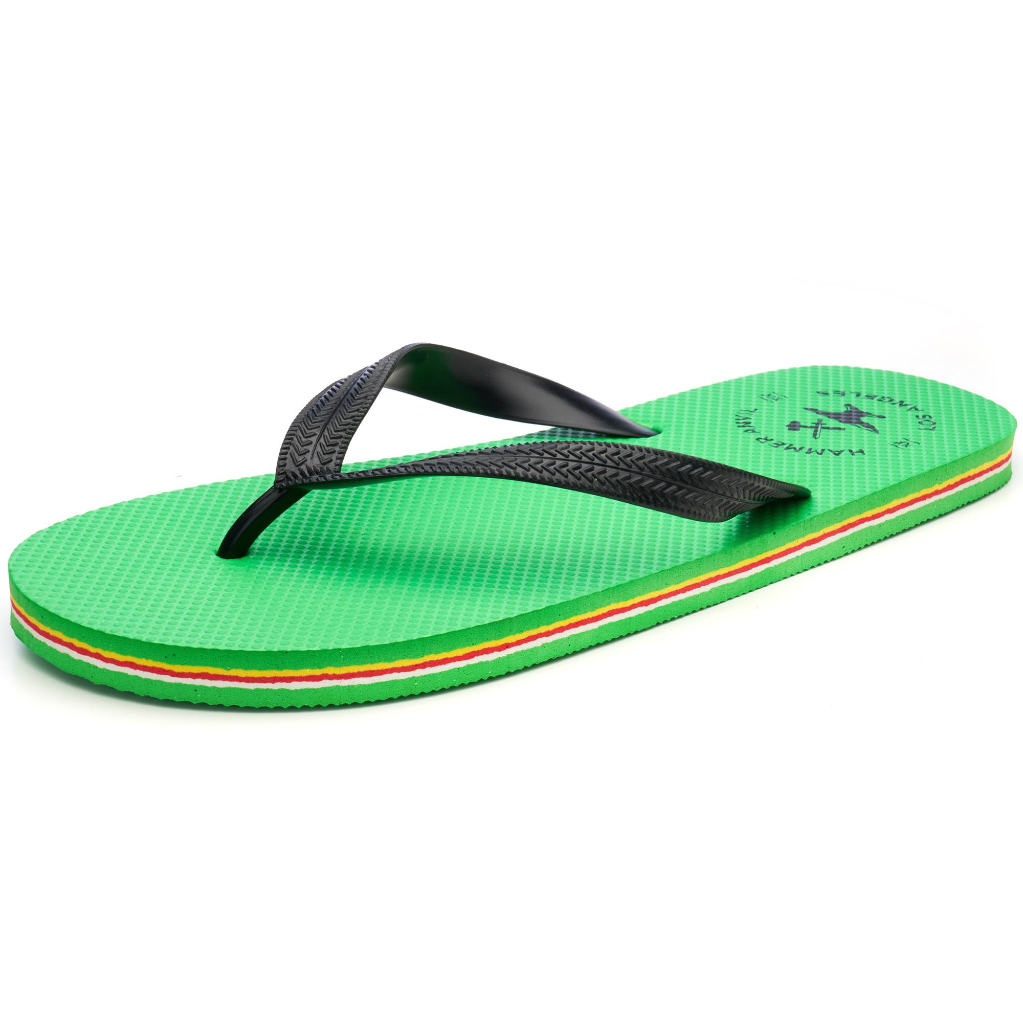 Hammer-Anvil-Mens-Flip-Flops-Casual-Thong-Summer-Sandals-Comfortable-Beach-Shoes thumbnail 20