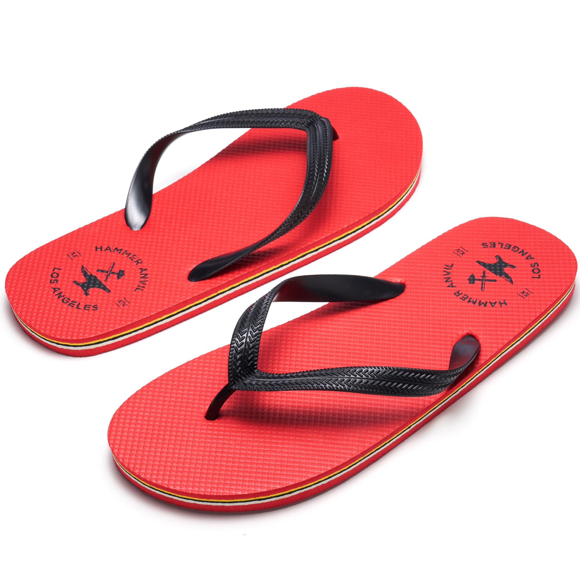 Hammer-Anvil-Mens-Flip-Flops-Casual-Thong-Summer-Sandals-Comfortable-Beach-Shoes thumbnail 42