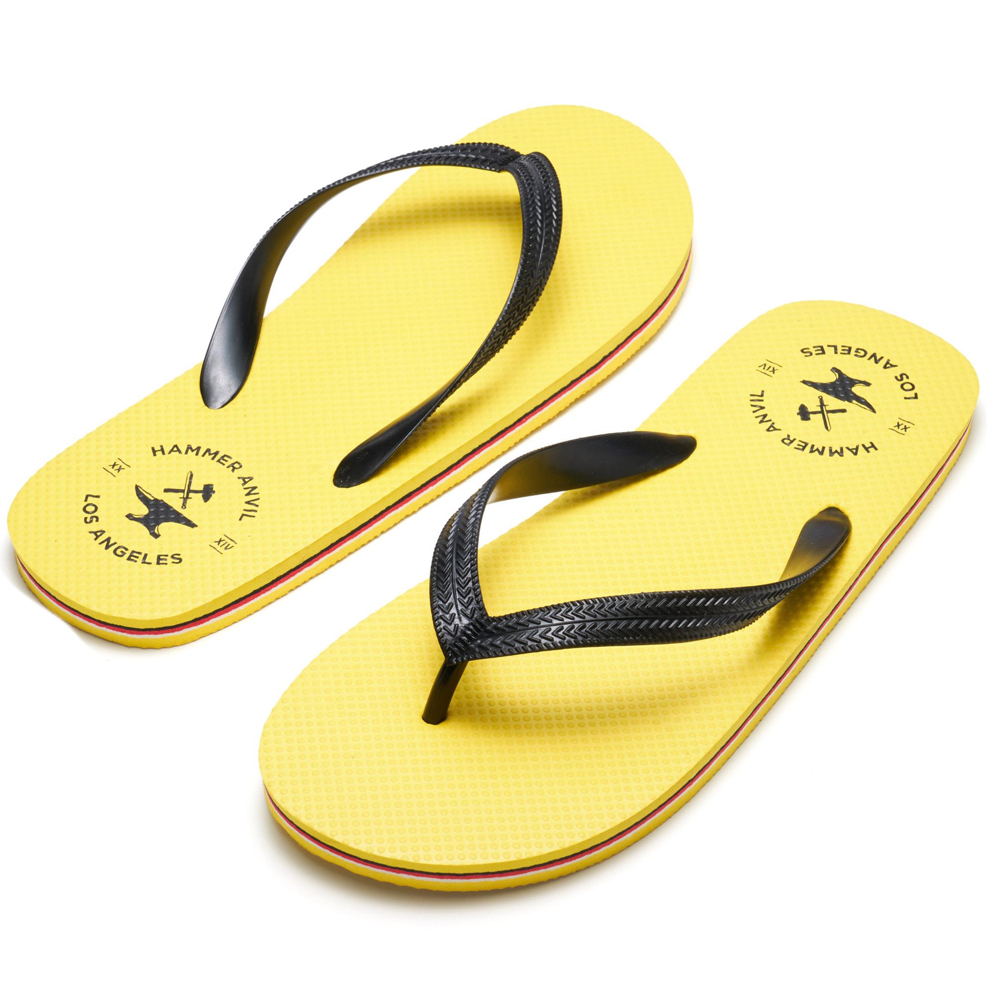 Hammer-Anvil-Mens-Flip-Flops-Casual-Thong-Summer-Sandals-Comfortable-Beach-Shoes thumbnail 48