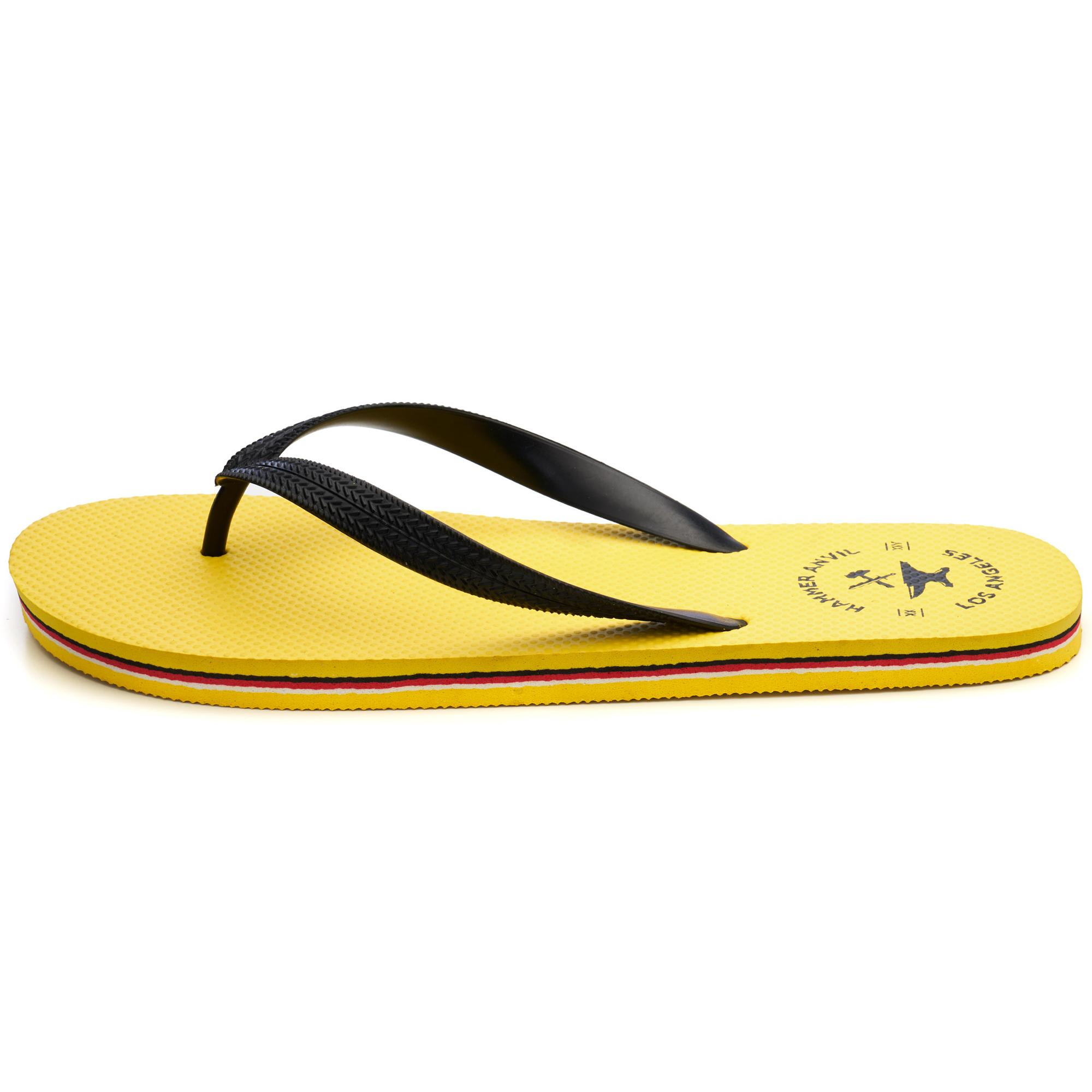 Hammer-Anvil-Mens-Flip-Flops-Casual-Thong-Summer-Sandals-Comfortable-Beach-Shoes thumbnail 47