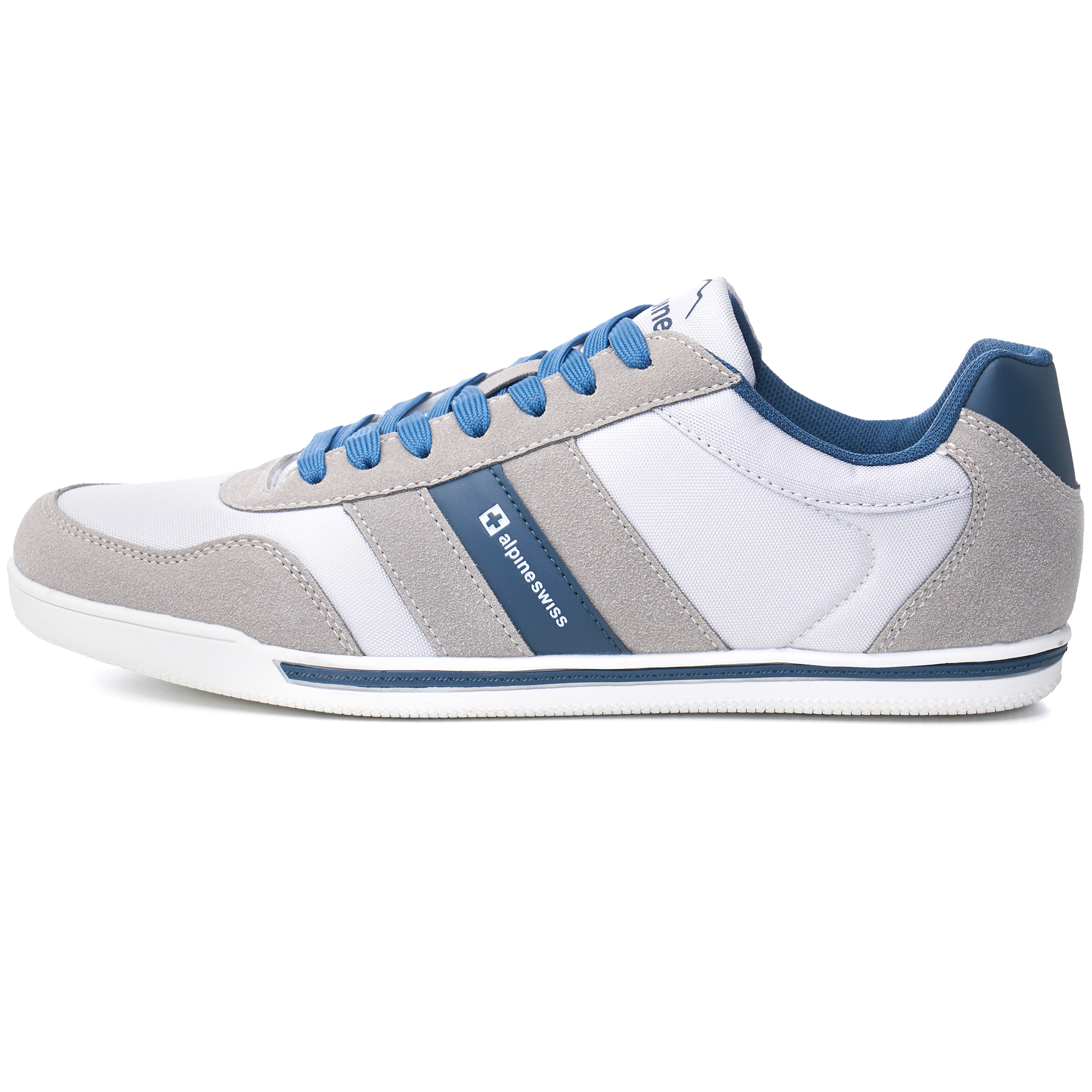 Alpine-Swiss-Haris-Mens-Retro-Striped-Athletic-Shoes-Fashion-Sneaker-Tennis-Shoe thumbnail 10