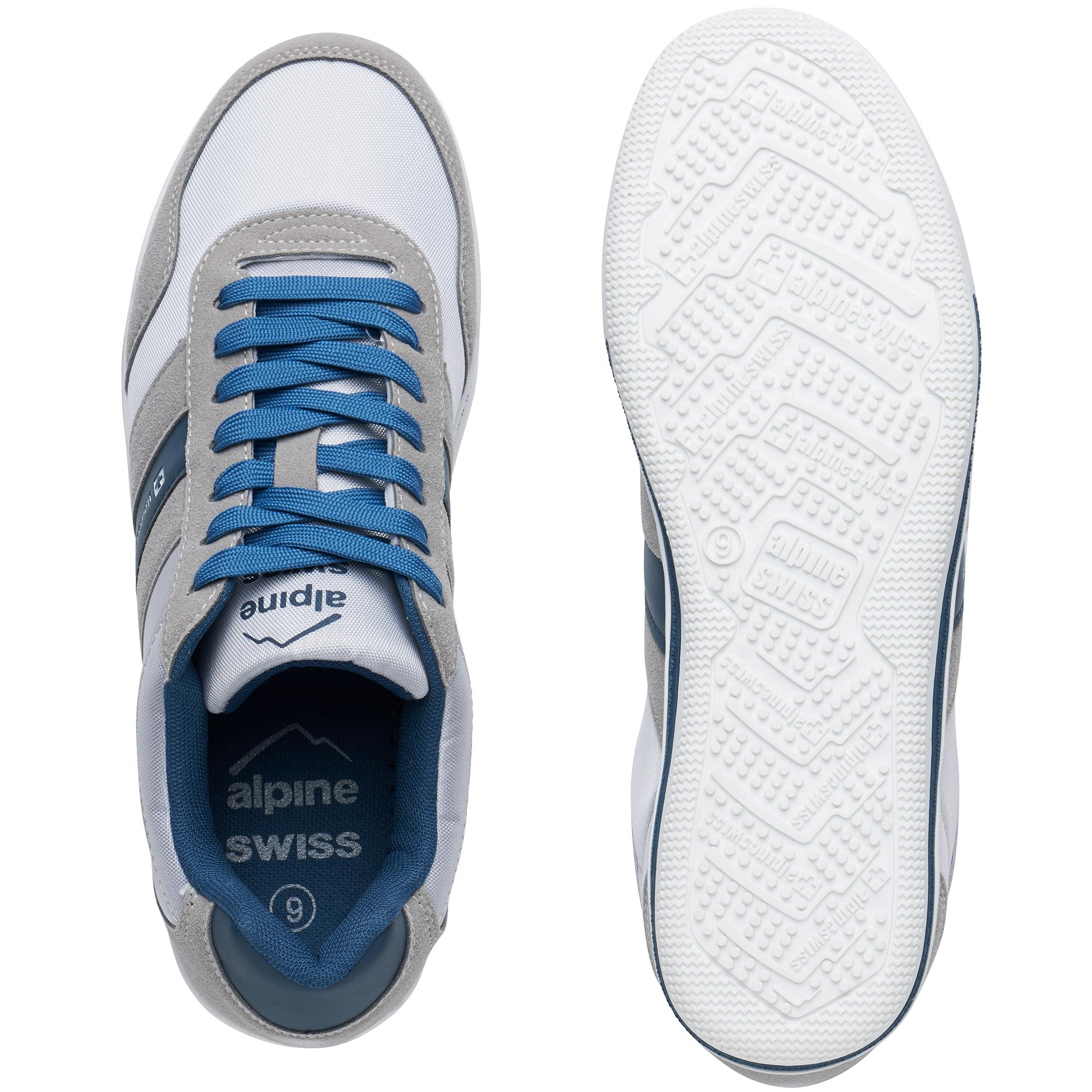 Alpine-Swiss-Haris-Mens-Retro-Striped-Athletic-Shoes-Fashion-Sneaker-Tennis-Shoe thumbnail 11