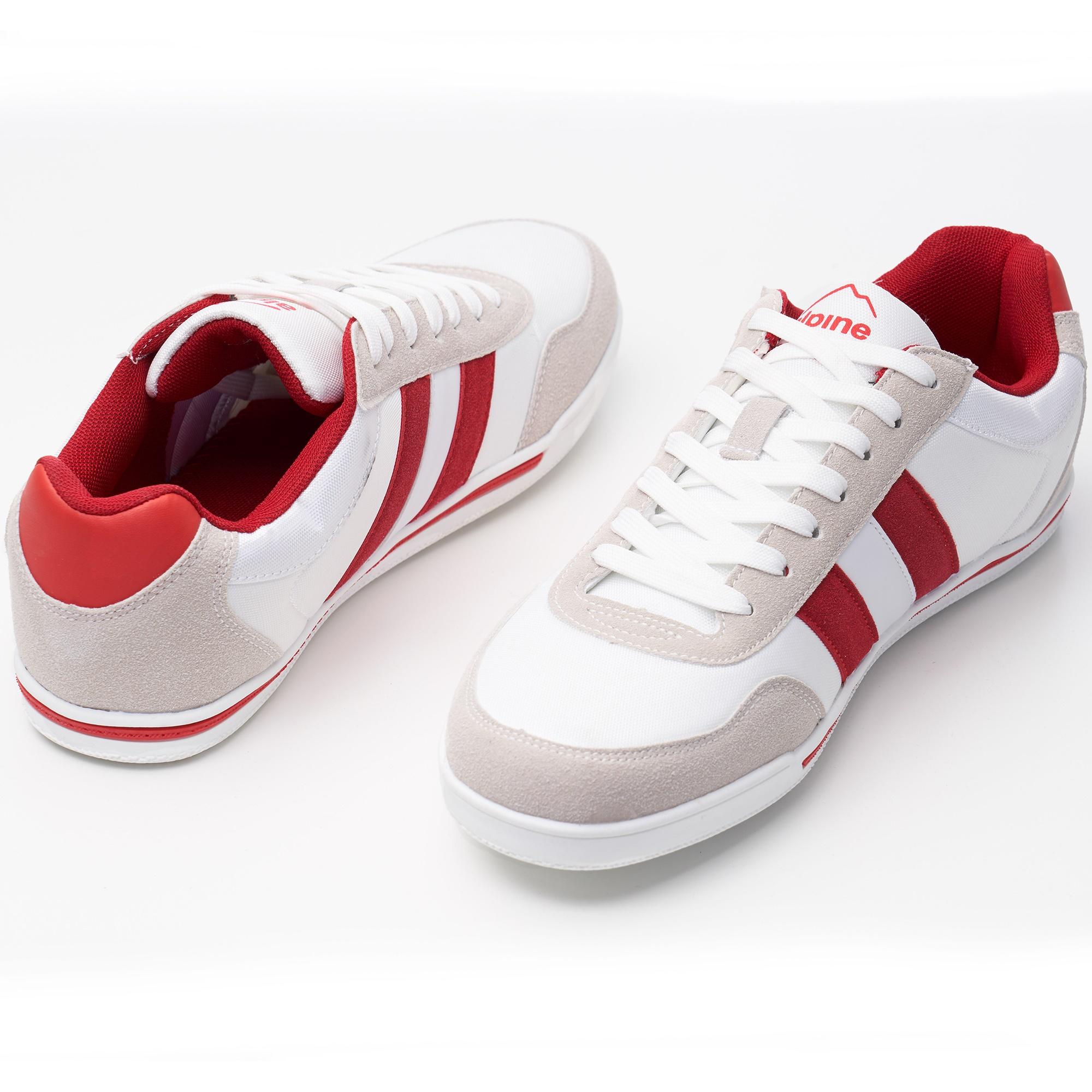 Alpine-Swiss-Haris-Mens-Retro-Striped-Athletic-Shoes-Fashion-Sneaker-Tennis-Shoe thumbnail 17