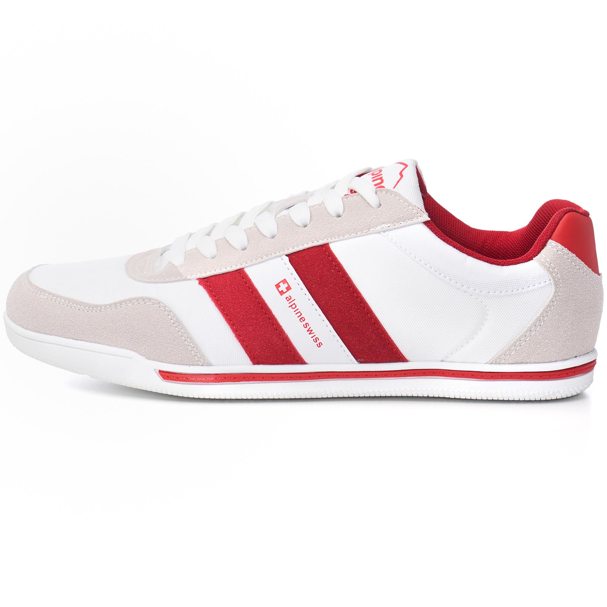 Alpine-Swiss-Haris-Mens-Retro-Striped-Athletic-Shoes-Fashion-Sneaker-Tennis-Shoe thumbnail 15